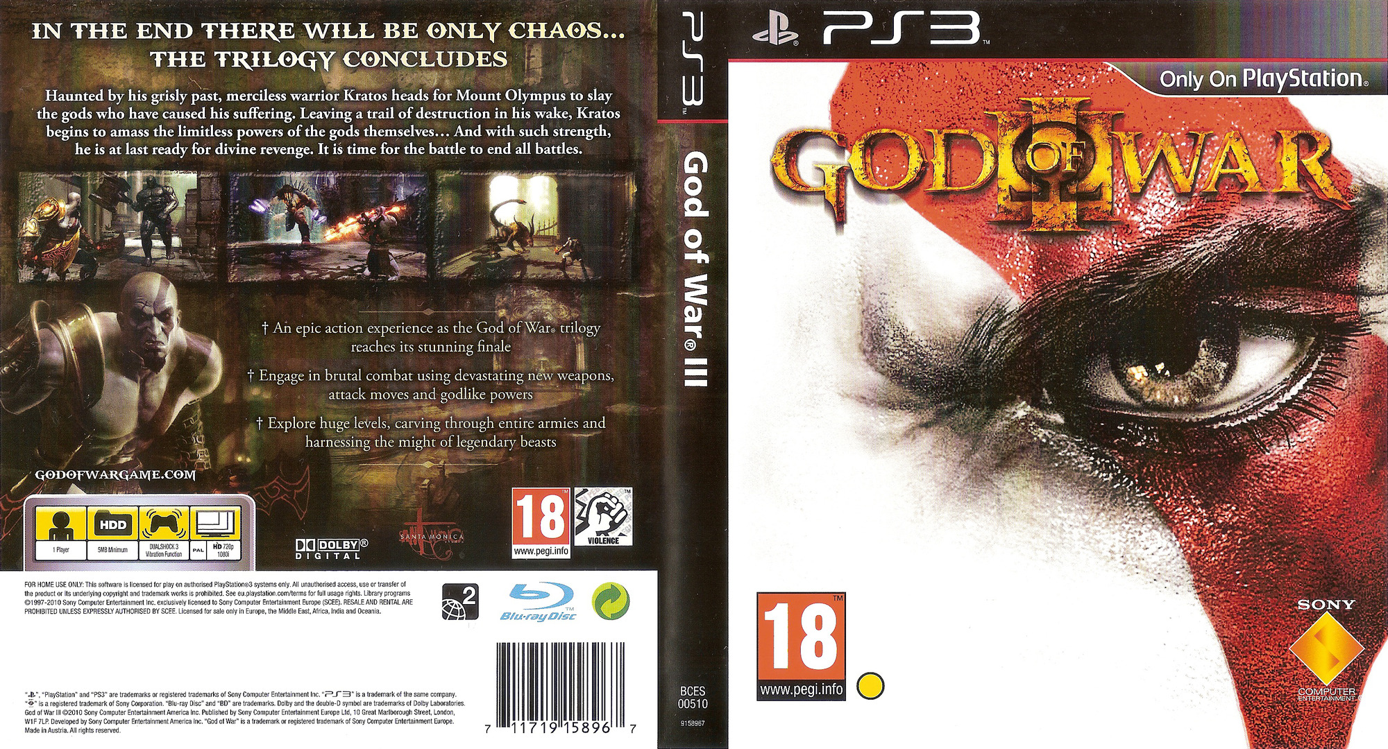 God of War III PS3 coverfullHQ (BCES00510)