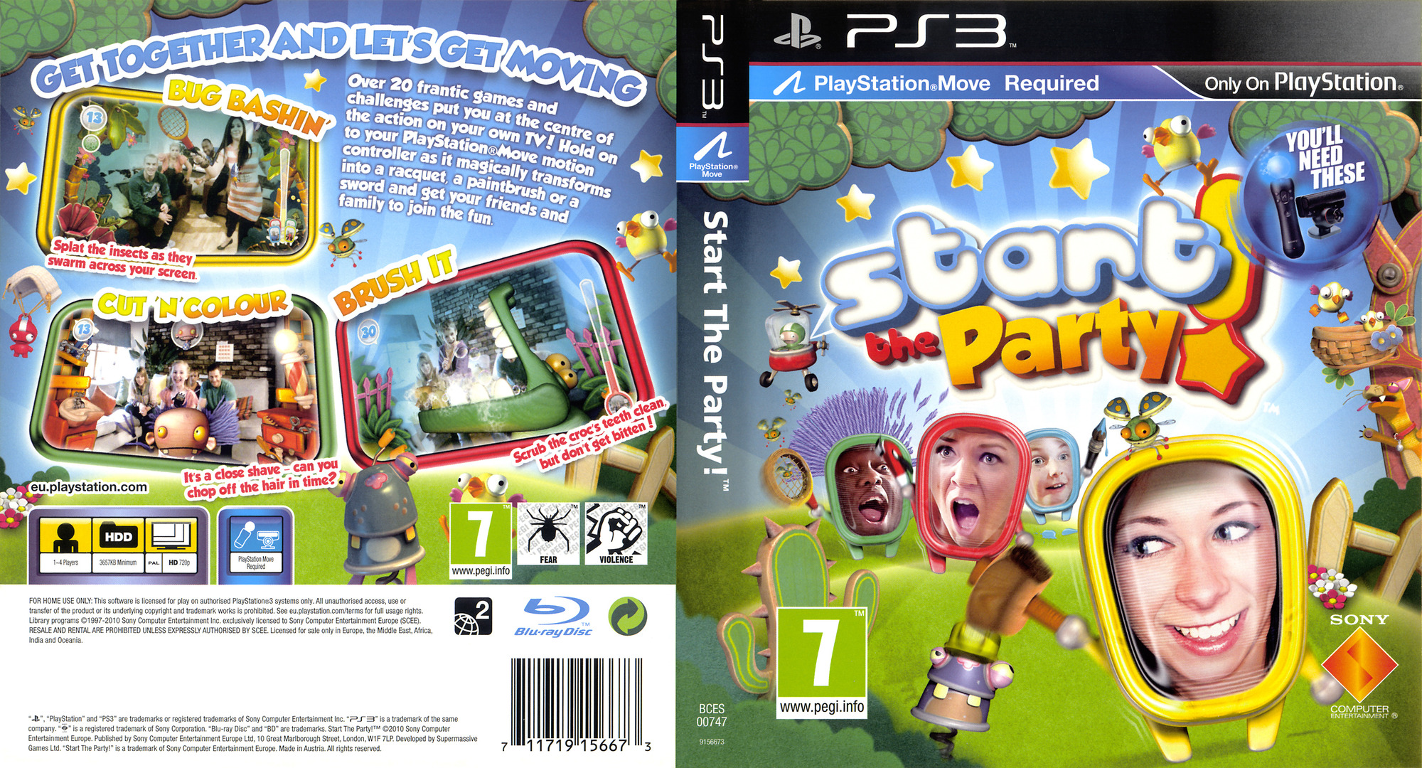 Start the Party PS3 coverfullHQ (BCES00747)
