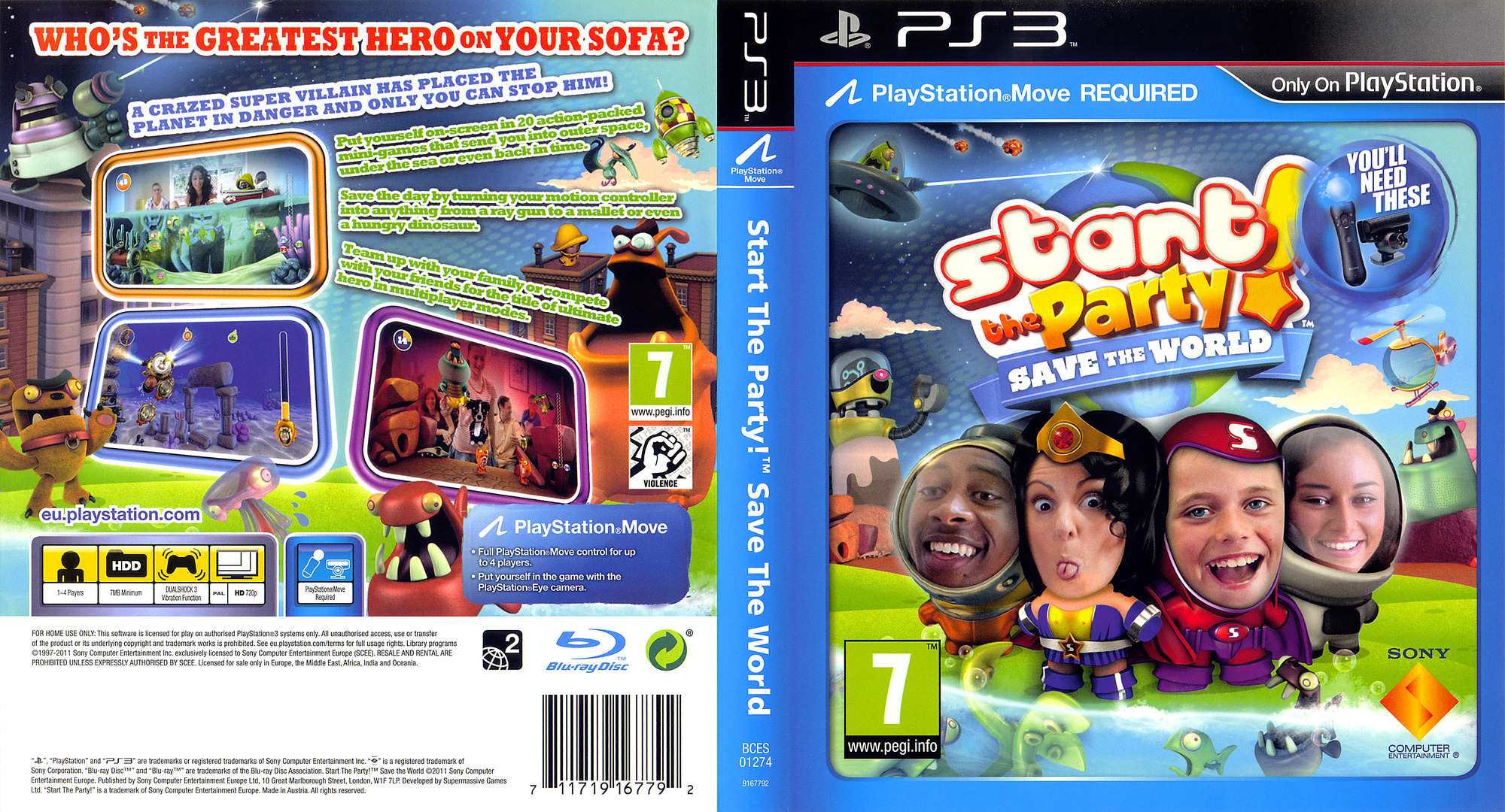 Start the Party! Save the World PS3 coverfullHQ (BCES01274)