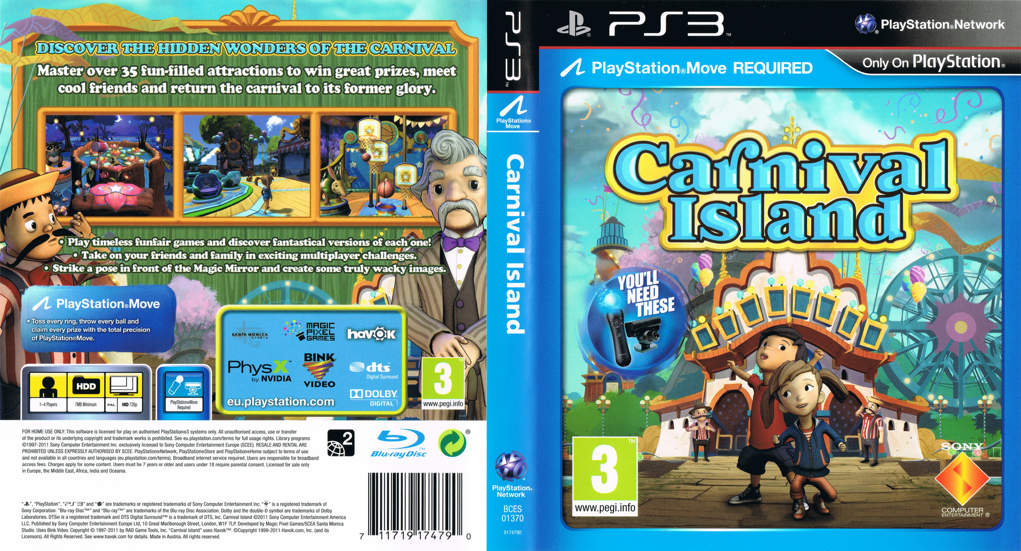Carnival Island PS3 coverfullHQ (BCES01370)