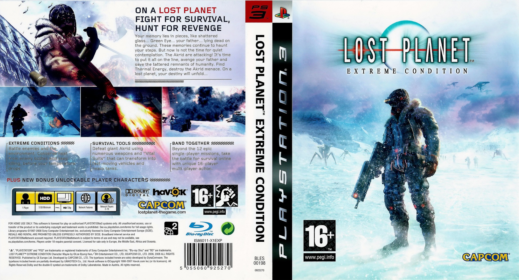 Lost Planet: Extreme Condition Array coverfullHQ (BLES00198)