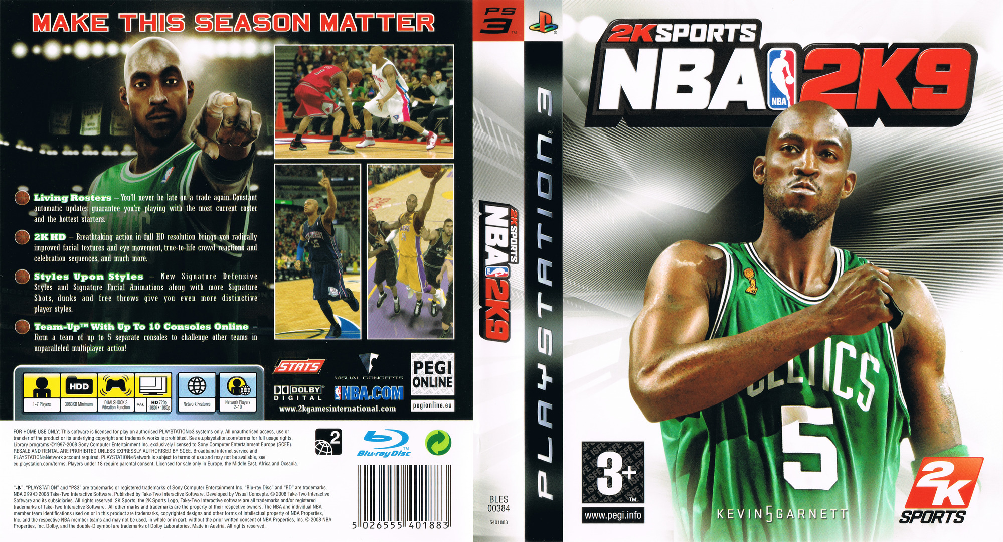 NBA 2K9 PS3 coverfullHQ (BLES00384)