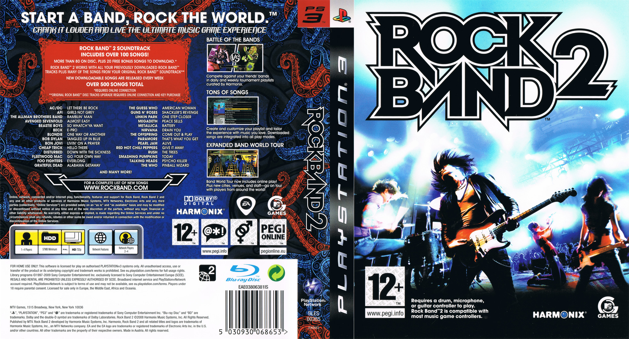 Rock Band 2 PS3 coverfullHQ (BLES00385)