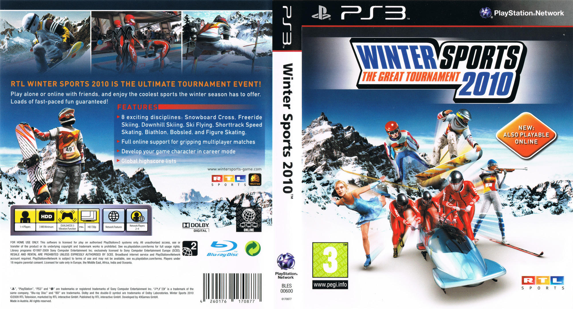 Winter Sports 2010: The Great Tournament PS3 coverfullHQ (BLES00600)