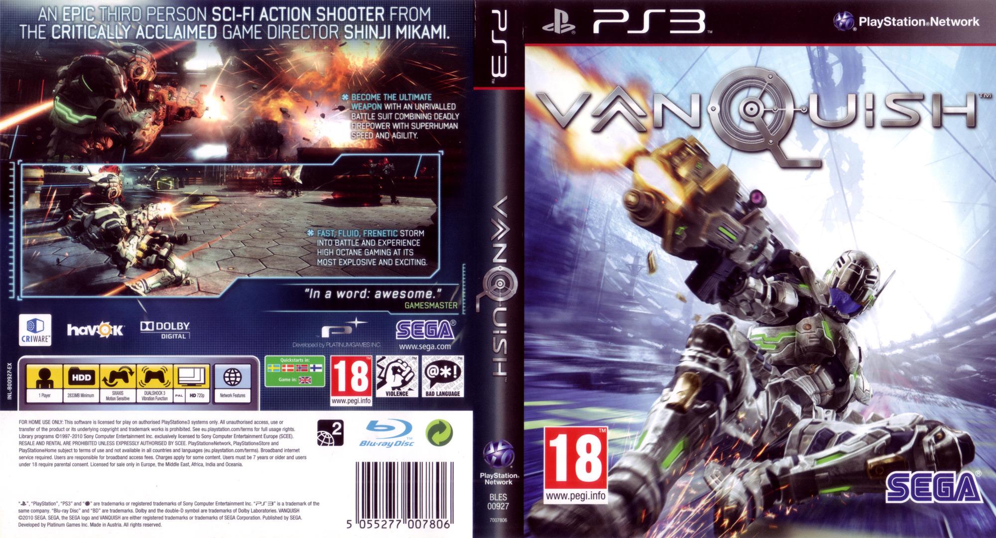 Vanquish PS3 coverfullHQ (BLES00927)