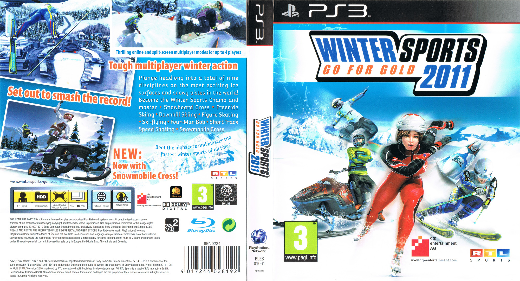 Winter Sports 2011: Go for Gold PS3 coverfullHQ (BLES01061)