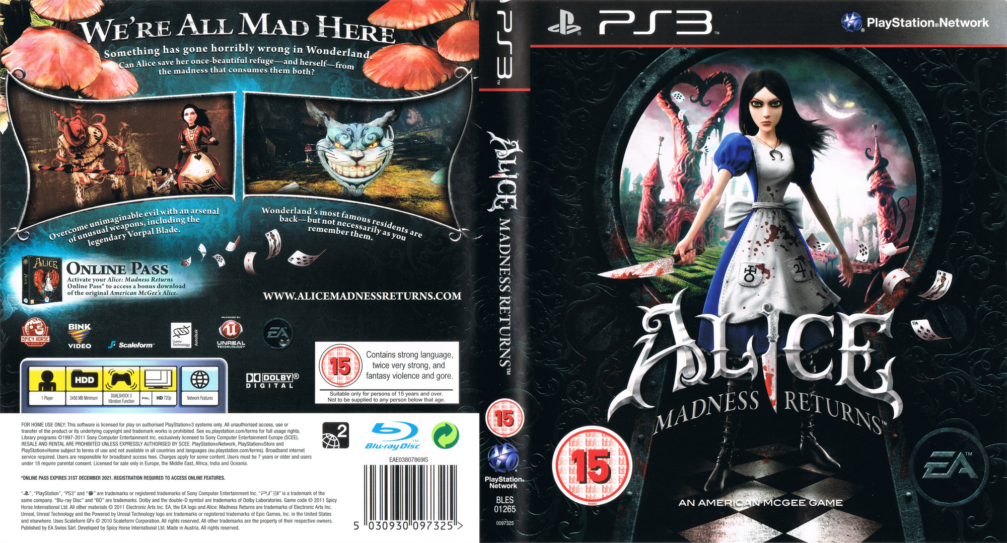 Alice: Madness Returns PS3 coverfullHQ (BLES01265)