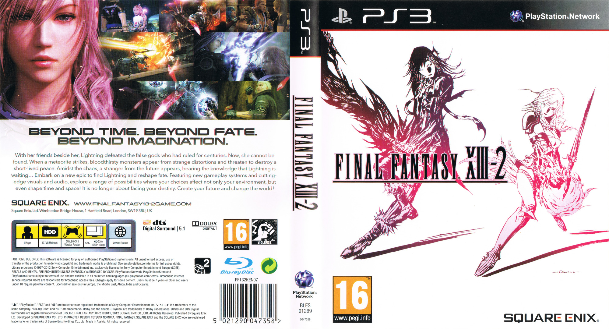 Final Fantasy XIII-2 Array coverfullHQ (BLES01269)