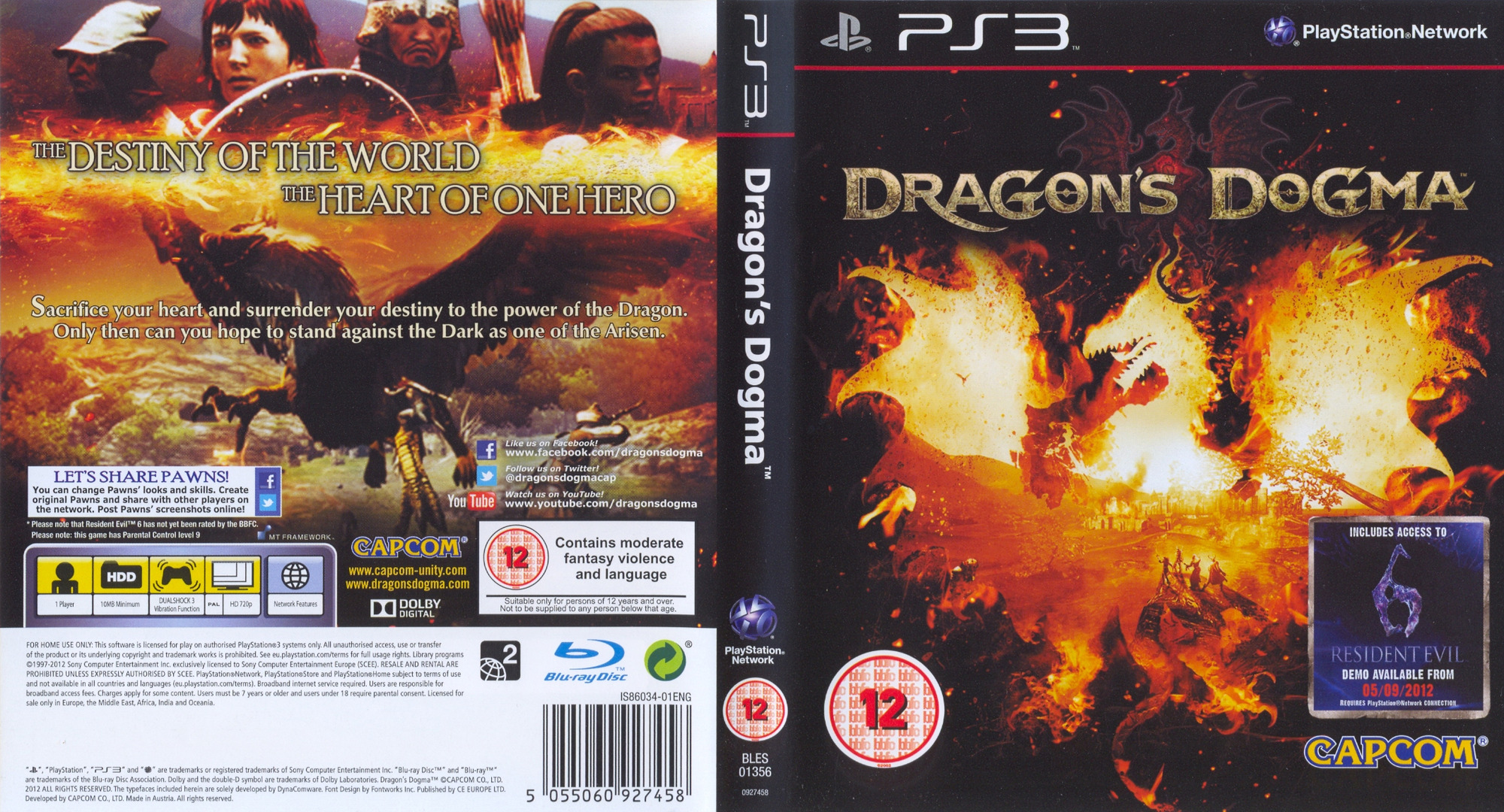 Dragon's Dogma PS3 coverfullHQ (BLES01356)