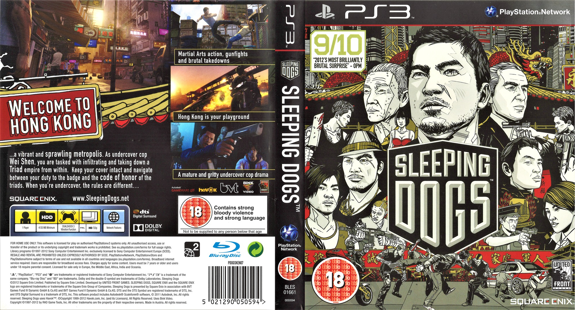 Sleeping Dogs PS3 coverfullHQ (BLES01661)