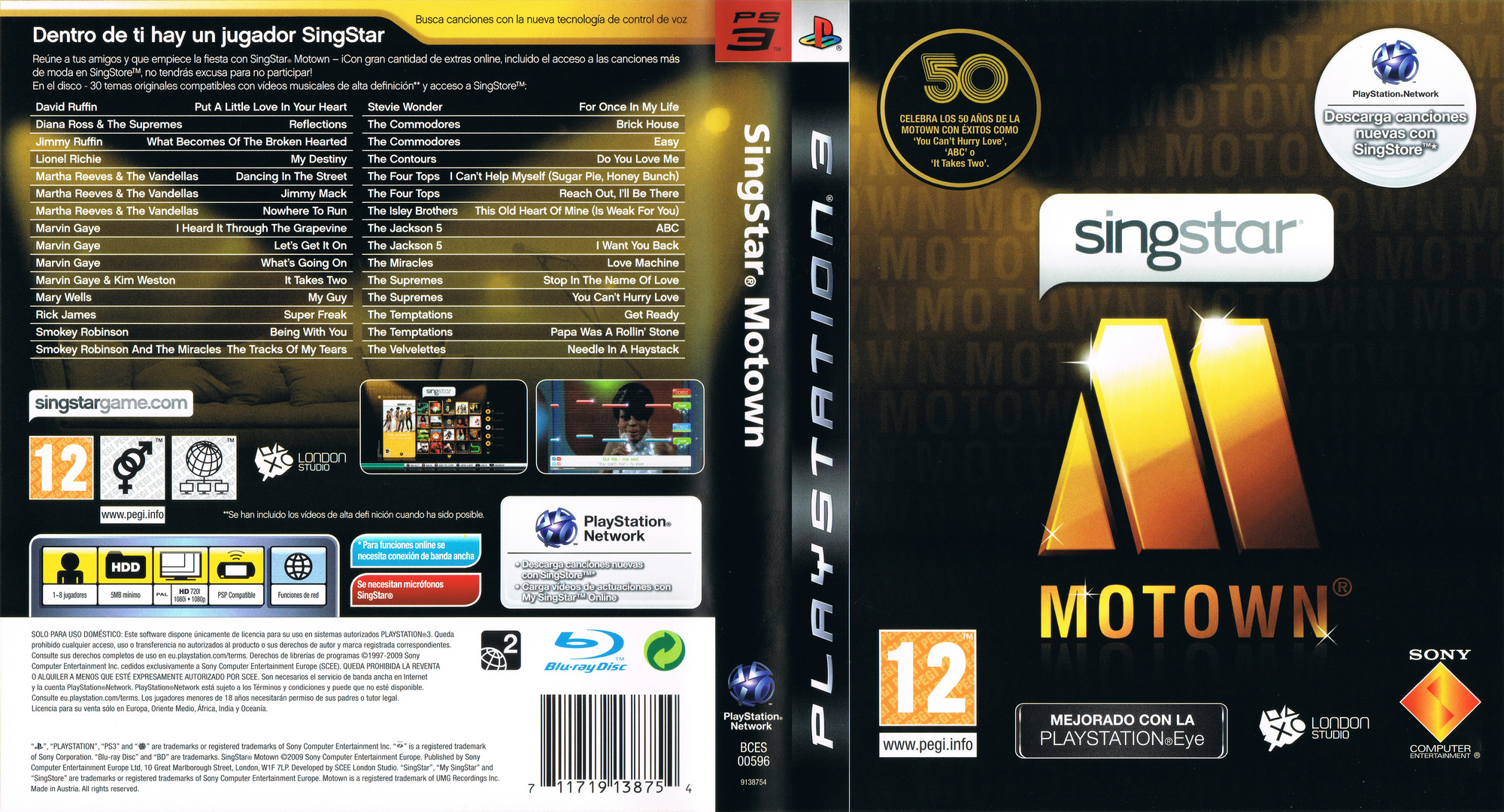 SingStar Motown PS3 coverfullHQ (BCES00596)