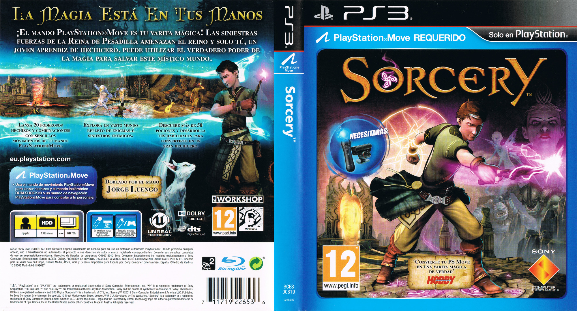 Sorcery PS3 coverfullHQ (BCES00819)