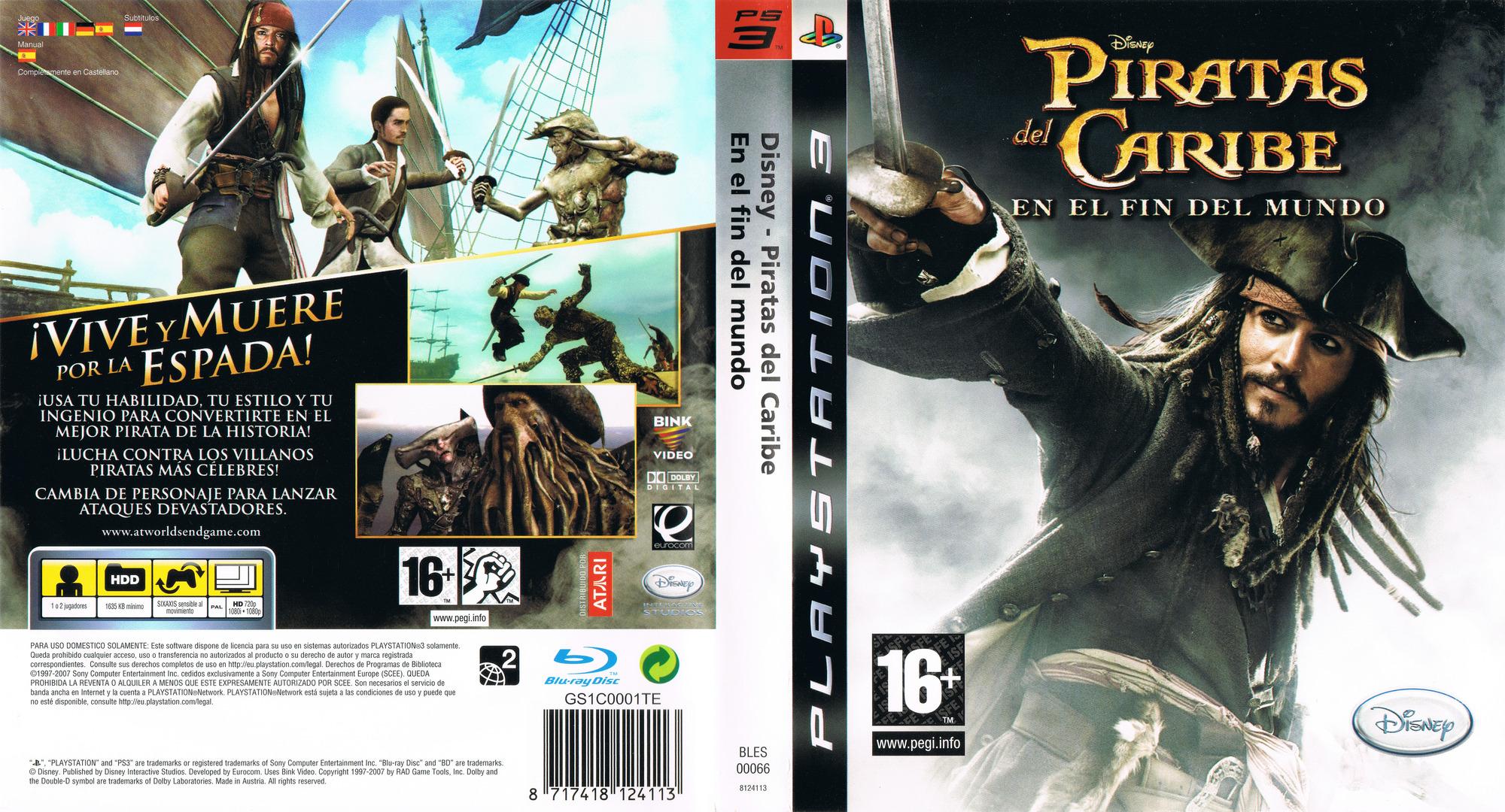 Piratas del Caribe: En el Fin del Mundo PS3 coverfullHQ (BLES00066)