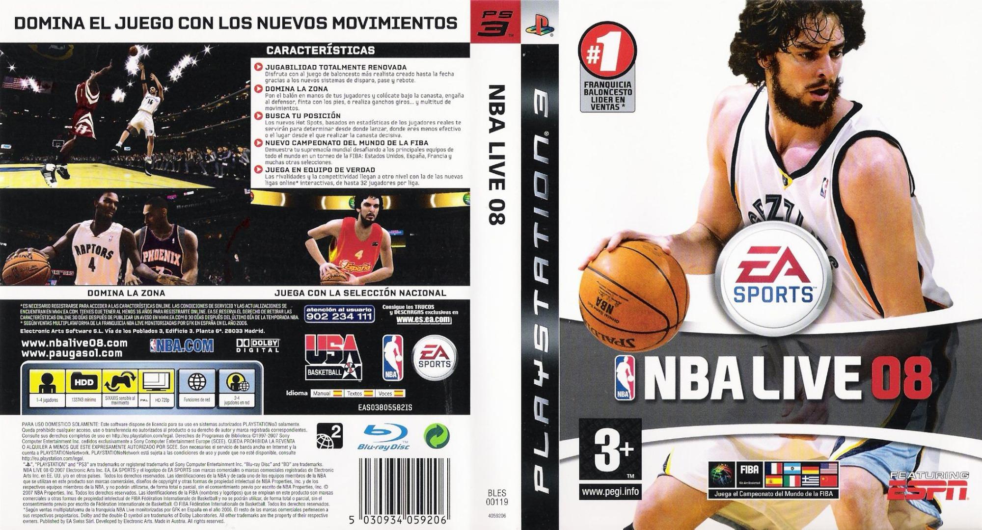 BLES00119 - NBA Live 08