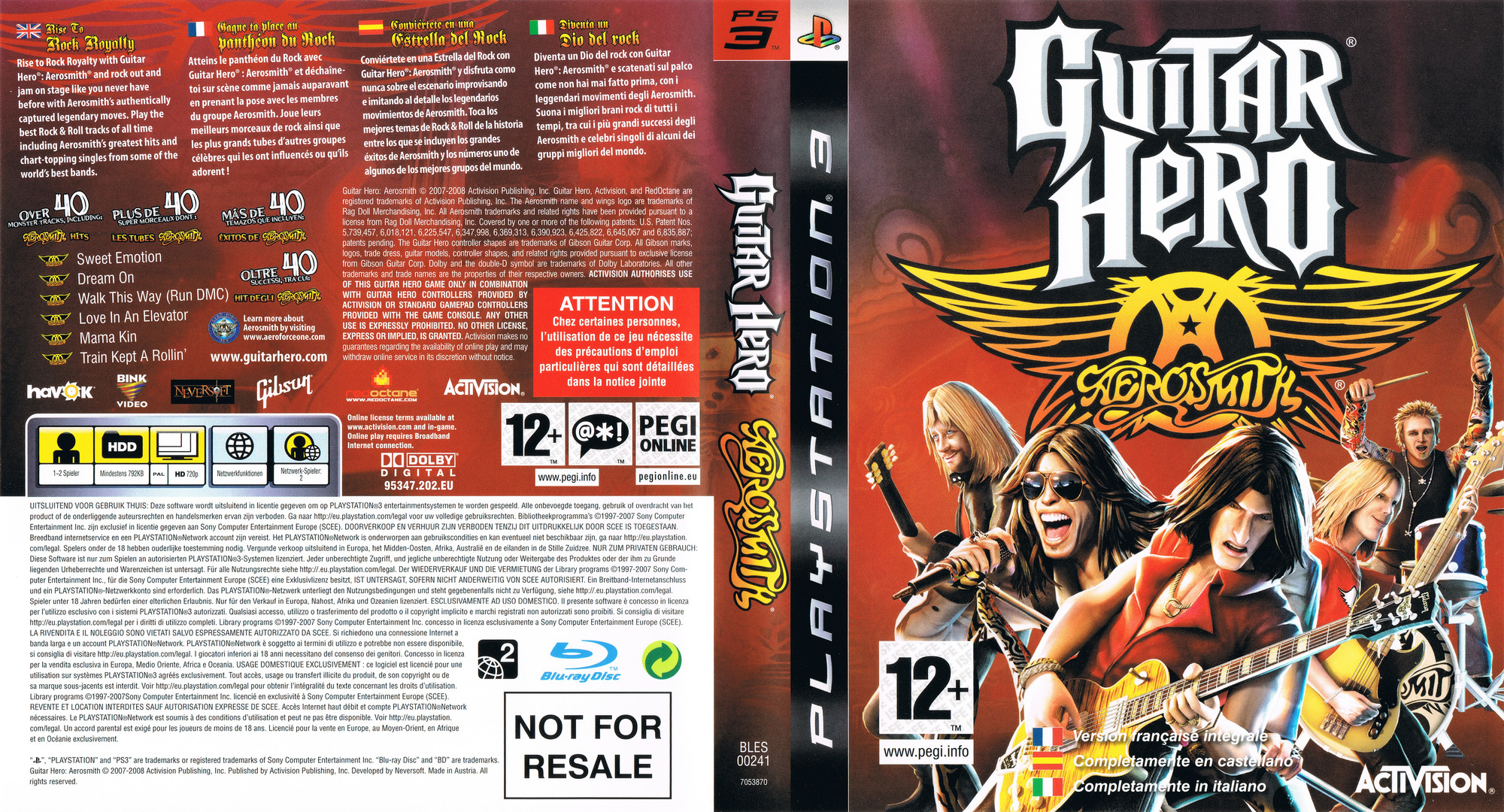Guitar Hero: Aerosmith PS3 coverfullHQ (BLES00241)