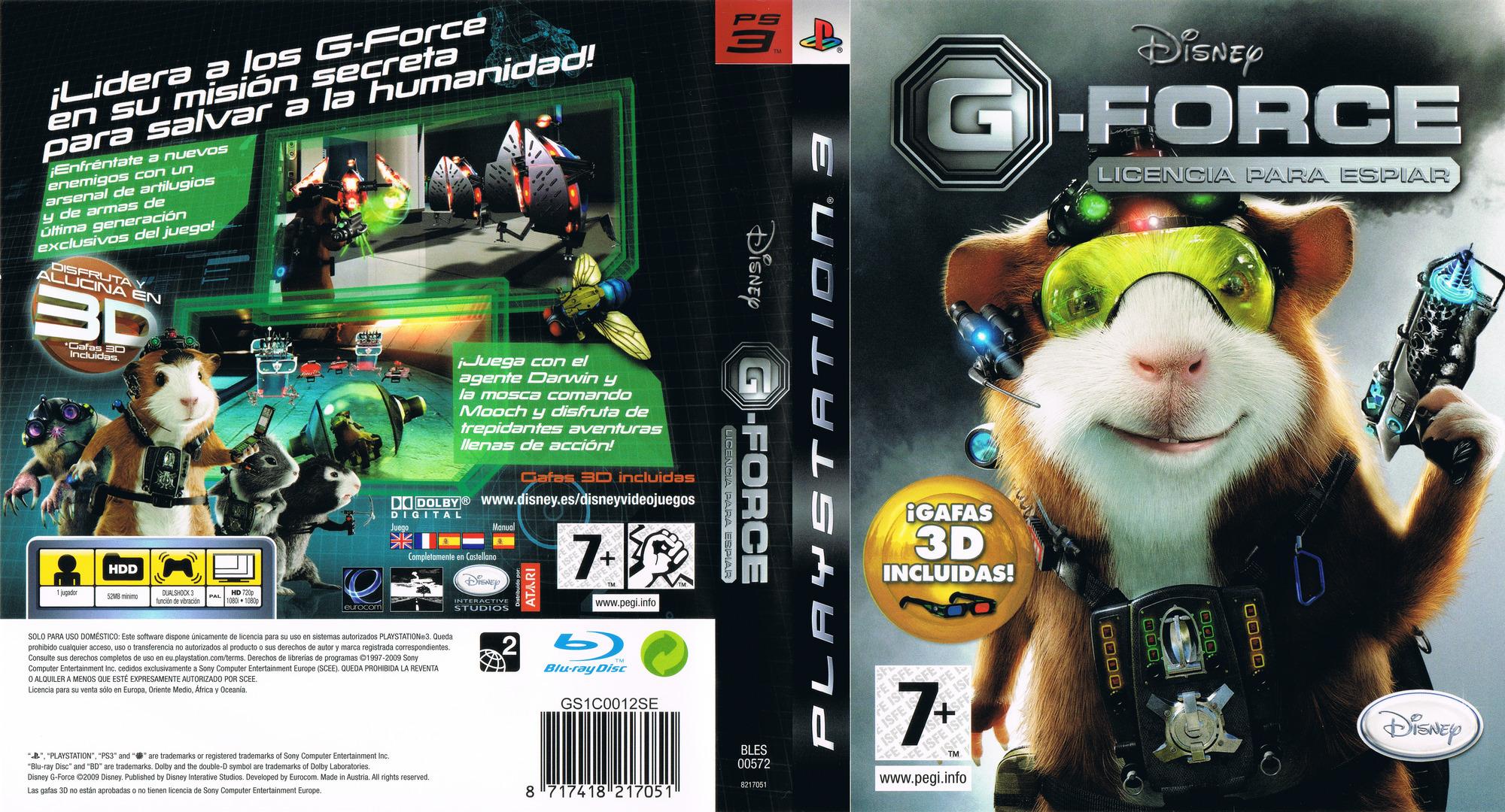 G-Force: Licencia para Espiar PS3 coverfullHQ (BLES00572)