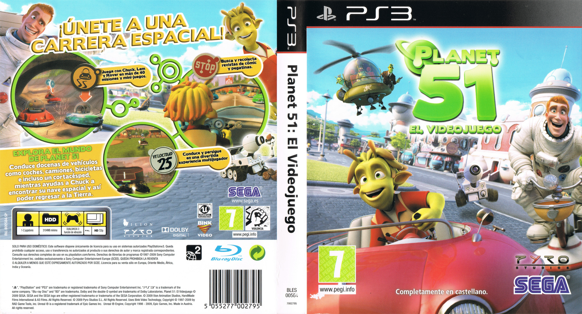 Planet 51 PS3 coverfullHQ (BLES00584)