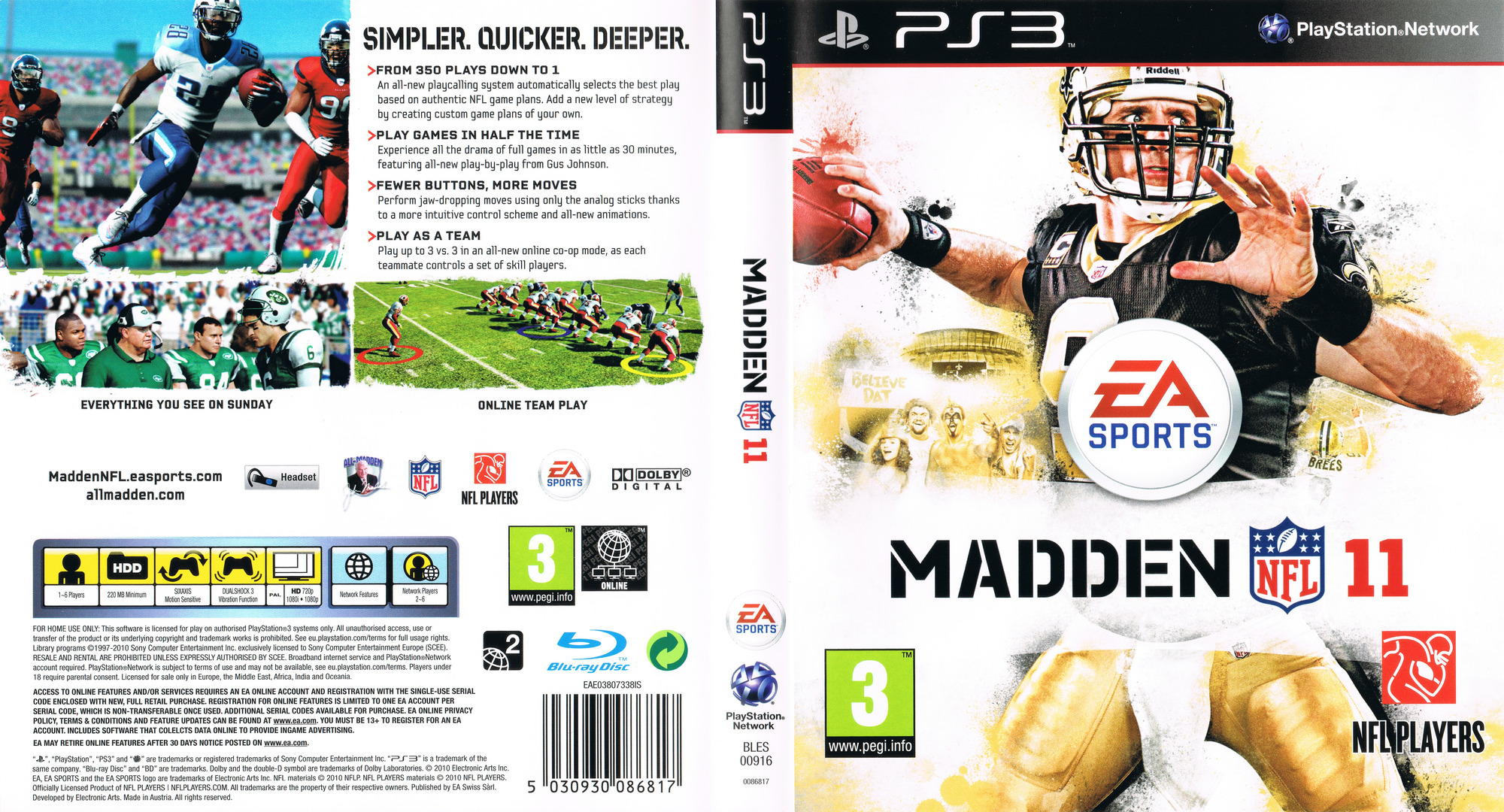 Madden NFL 11 PS3 coverfullHQ (BLES00916)