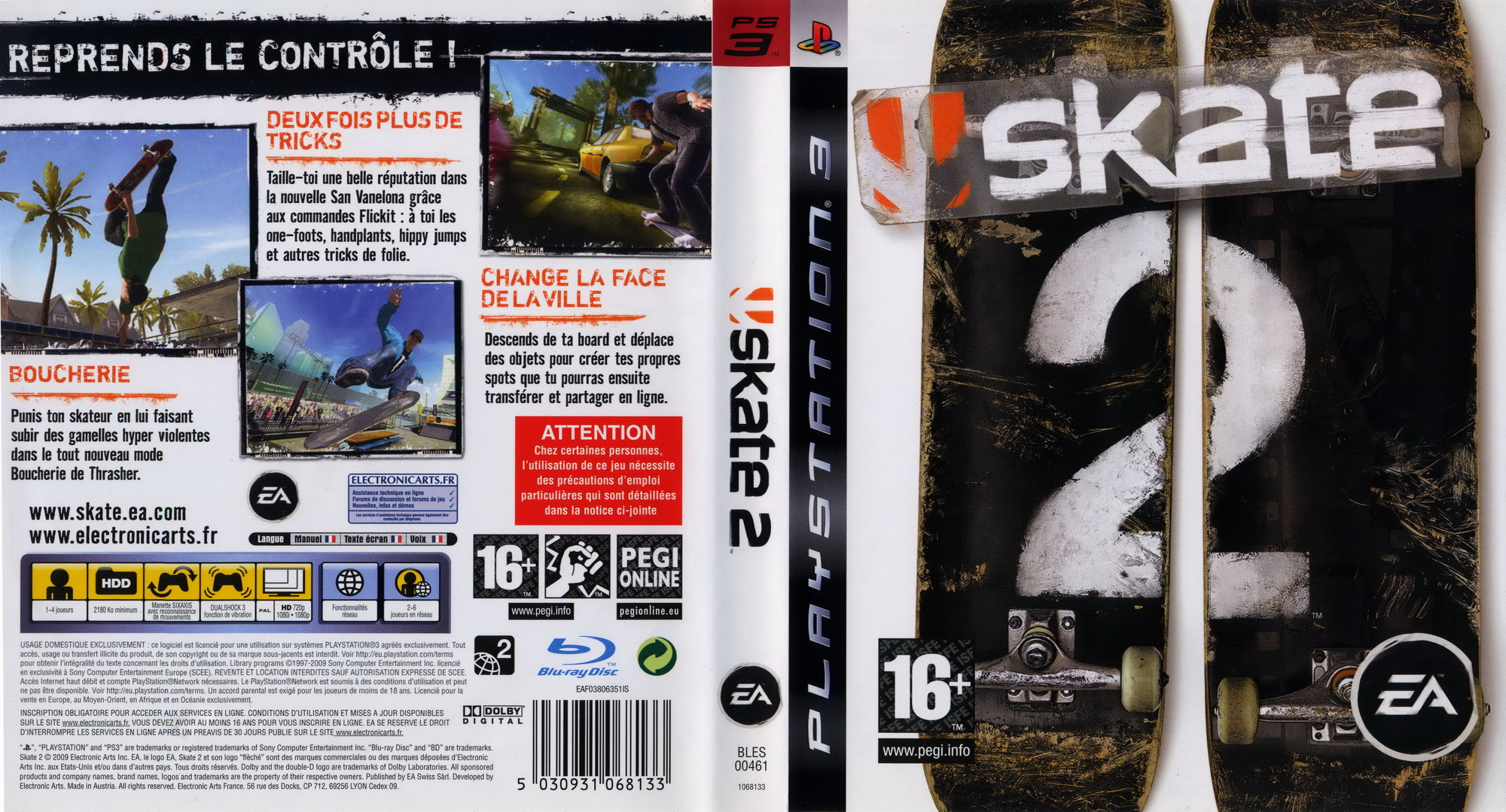 how to jump in skate 3 ps3