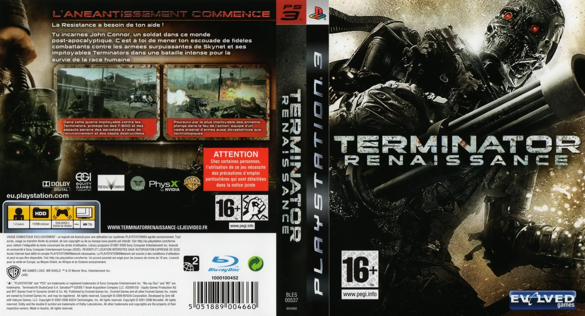 Terminator Renaissance PS3 coverfullHQ (BLES00537)