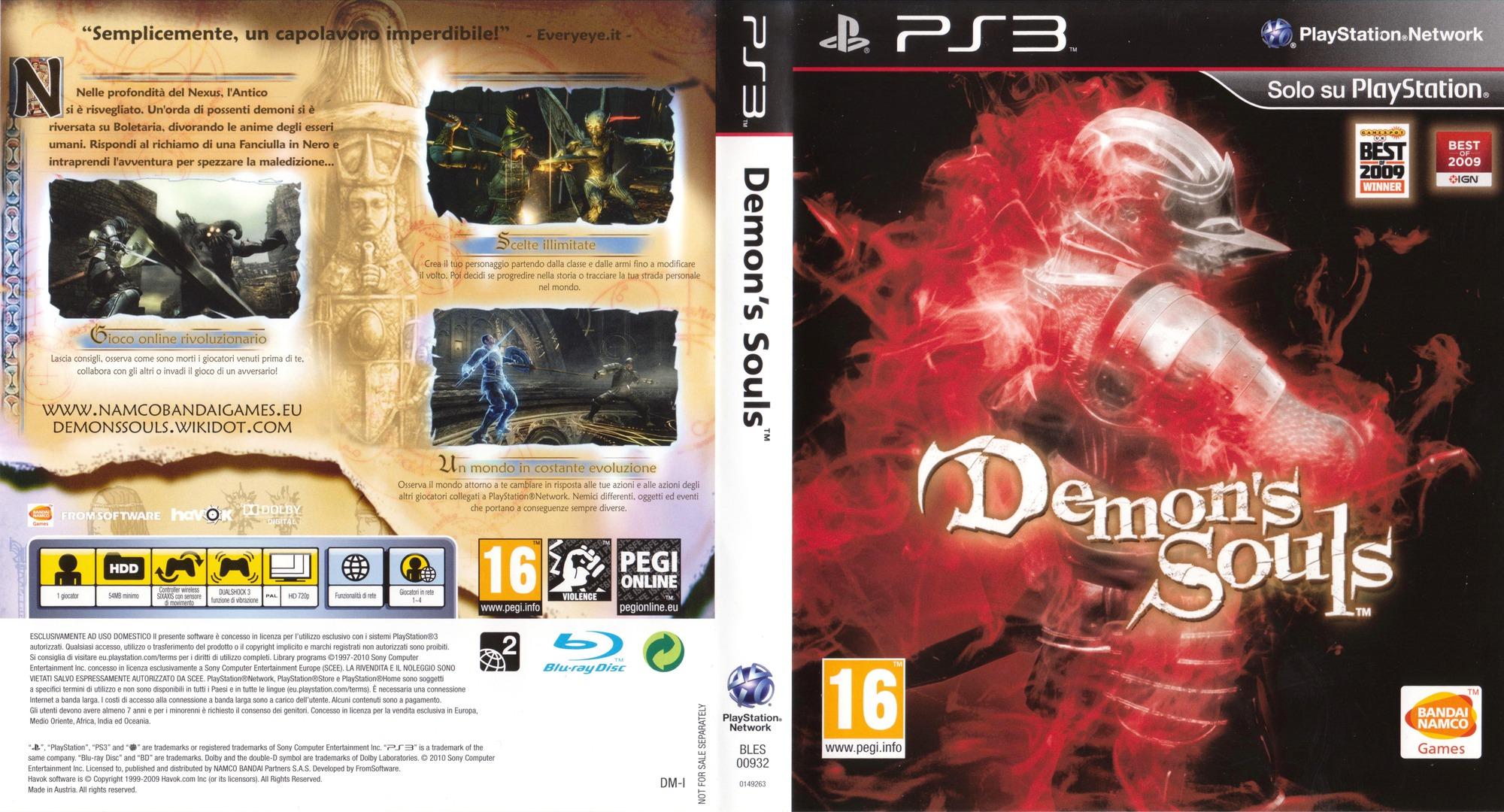 bles00932   demon s souls