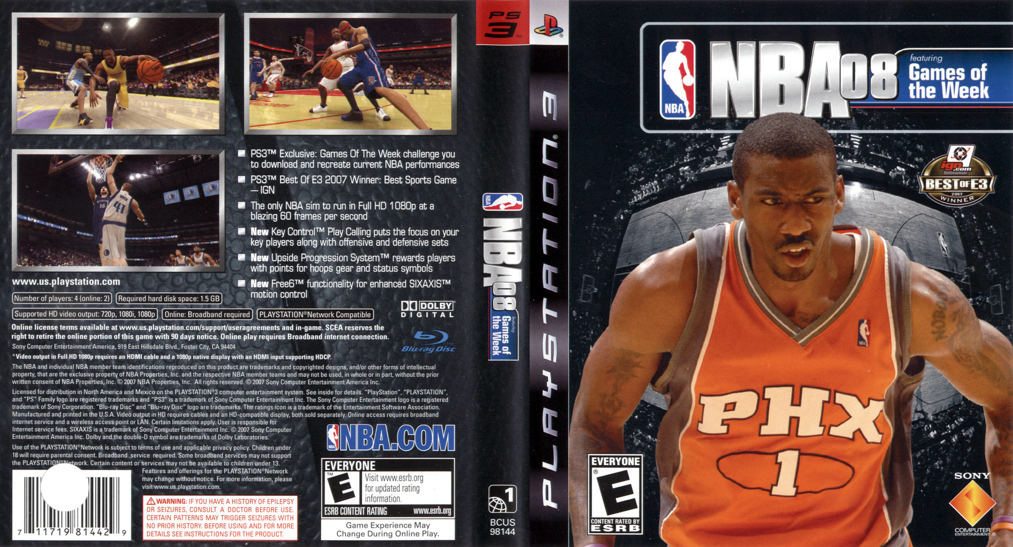 NBA 08 PS3 coverfullHQ (BCUS98144)