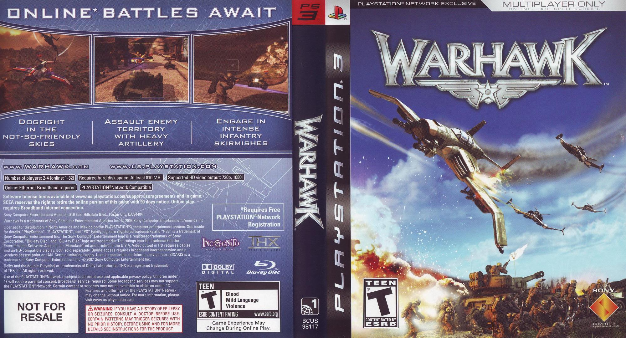 Warhawk PS3 coverfullHQ (BCUS98162)