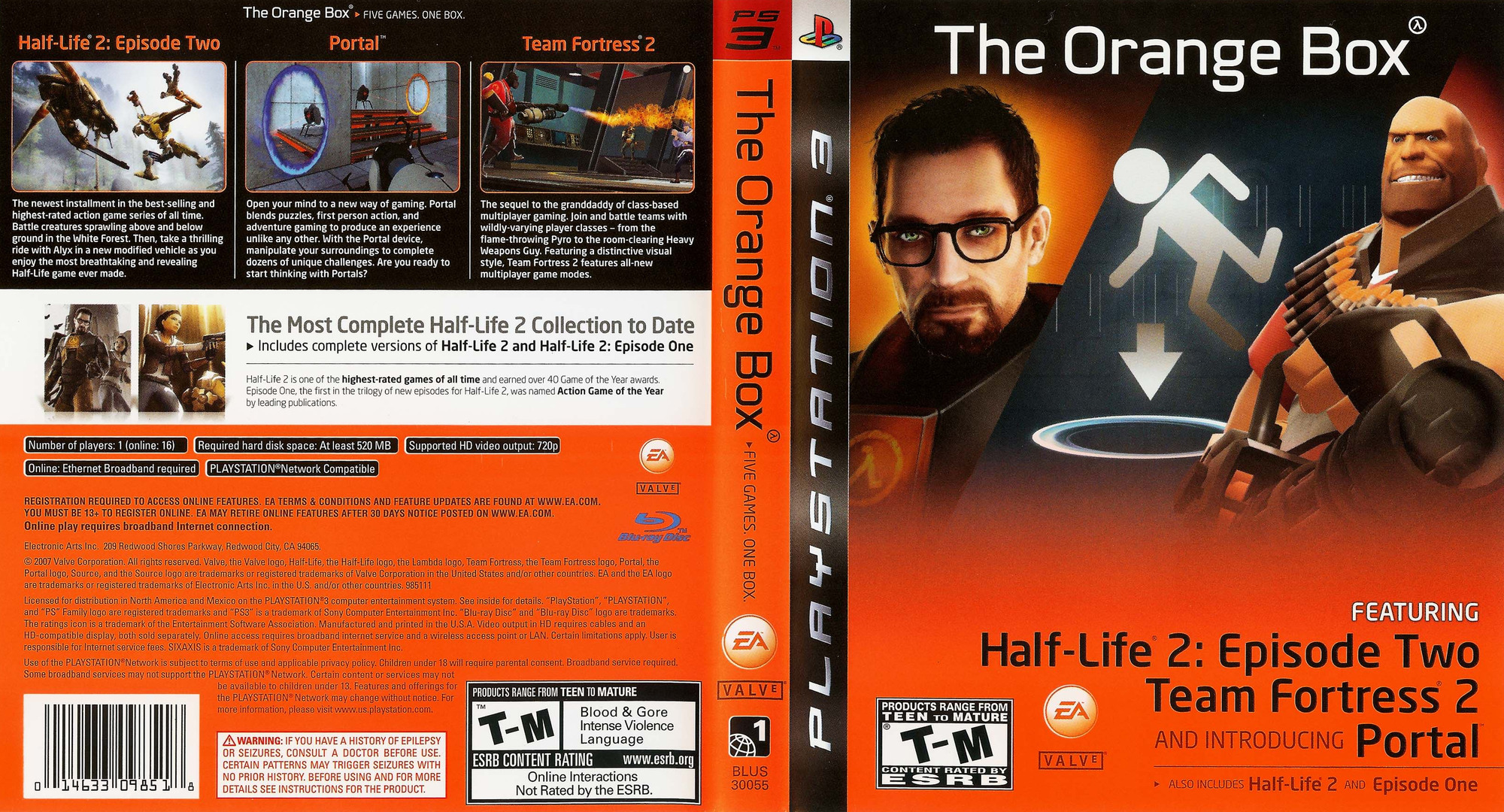 The Orange Box PS3 coverfullHQ (BLUS30055)