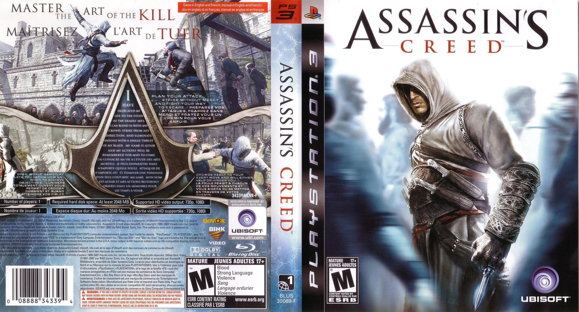 Assassin's Creed PS3 coverfullHQ (BLUS30089)