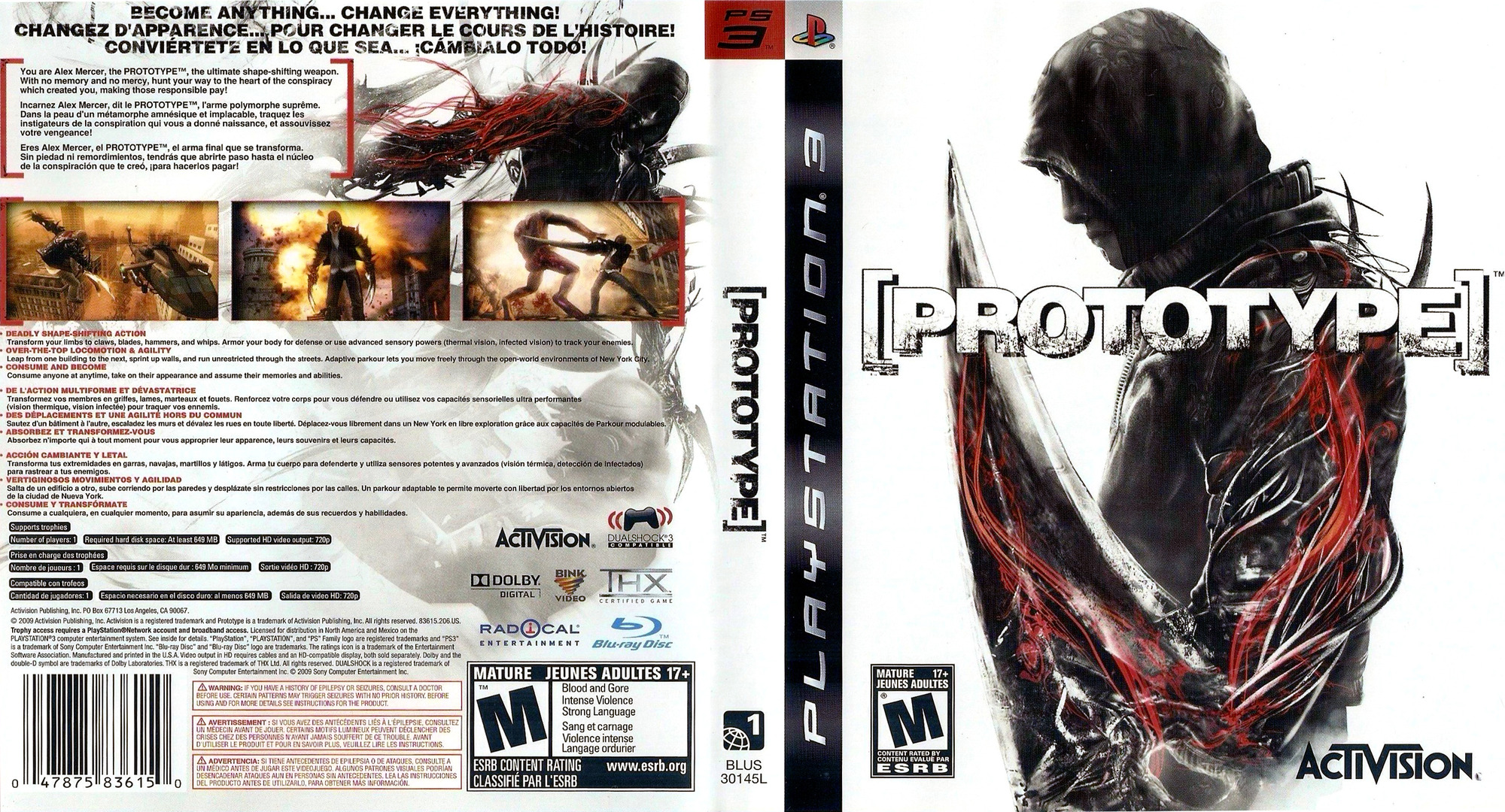 Prototype PS3 coverfullHQ (BLUS30145)