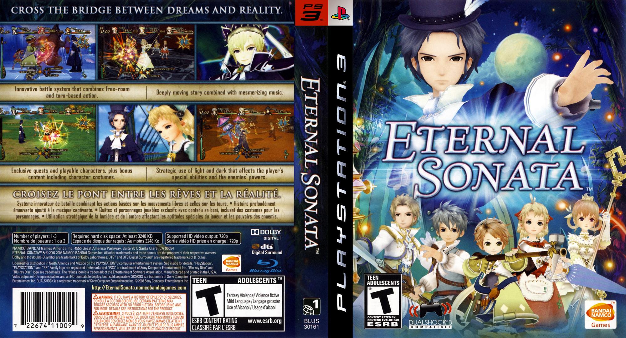 Eternal Sonata PS3 coverfullHQ (BLUS30161)