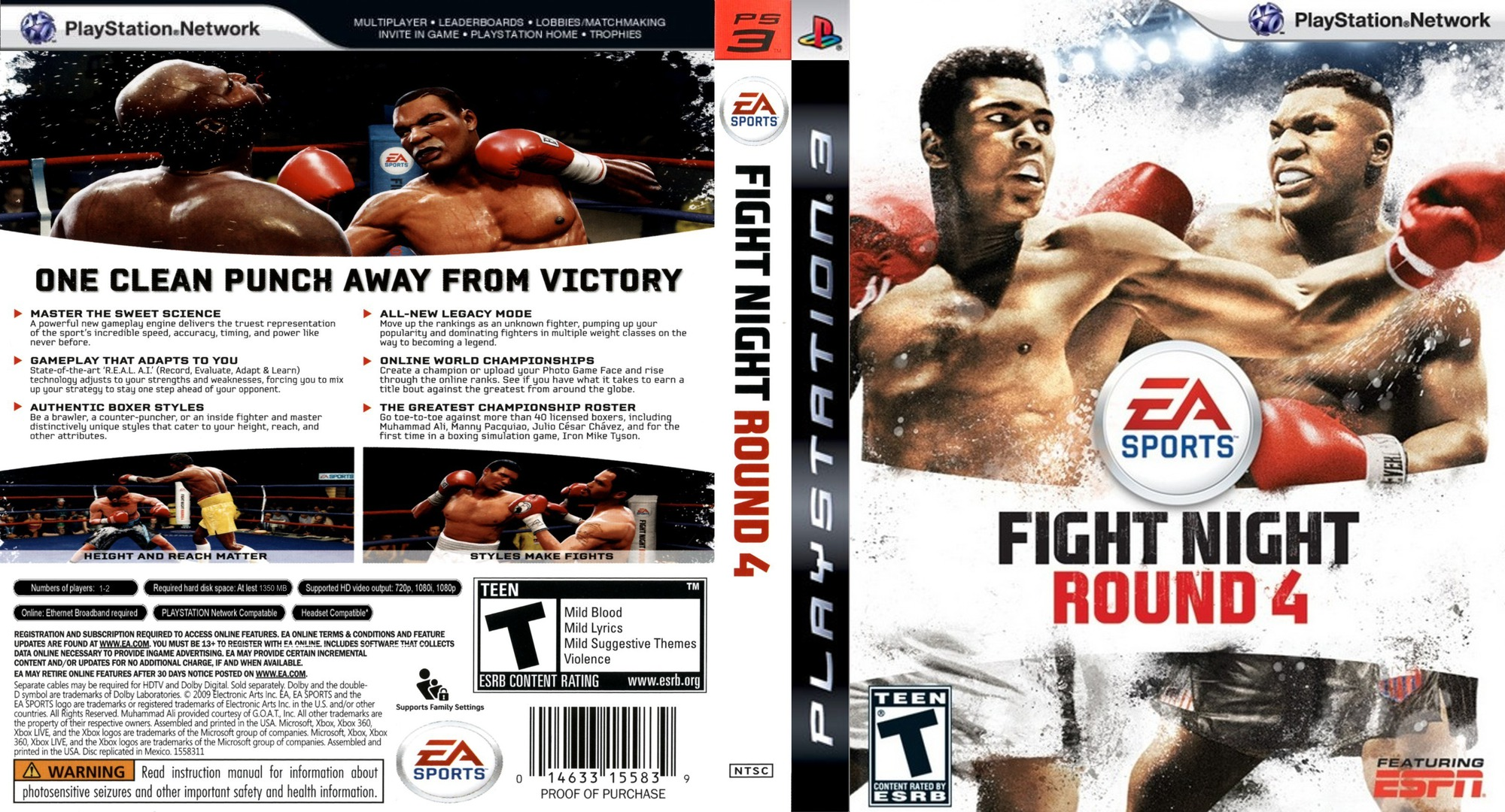 Fight Night: Round 4 PS3 coverfullHQ (BLUS30285)