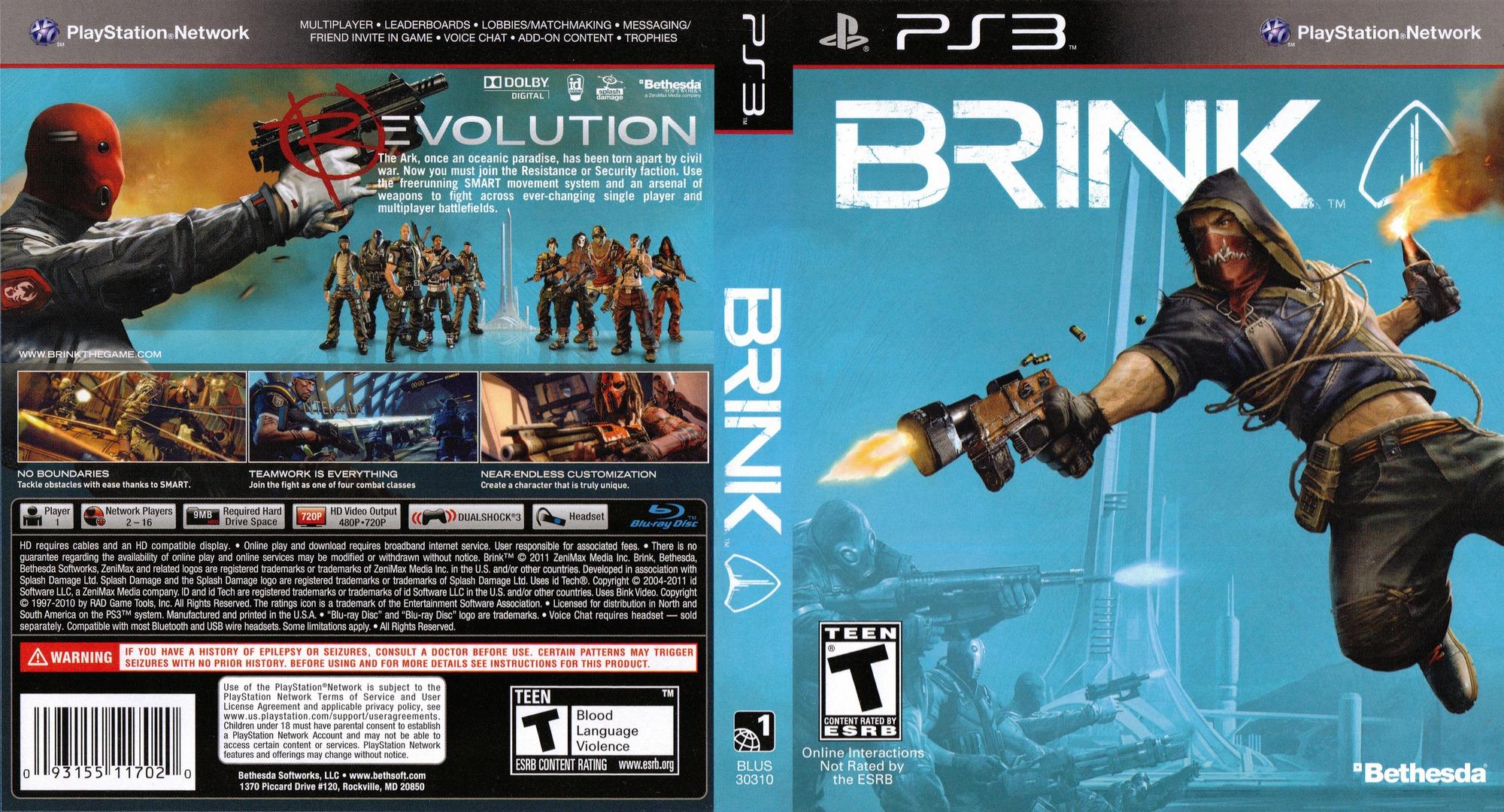 Brink Array coverfullHQ (BLUS30310)