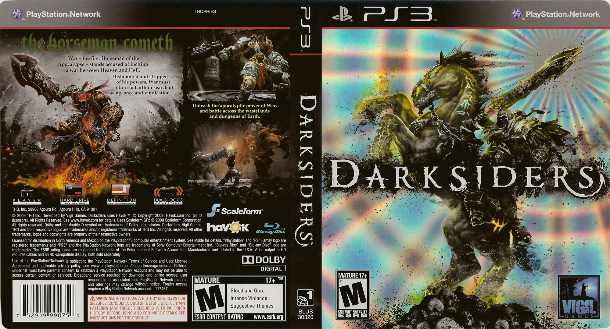 Darksiders PS3 coverfullHQ (BLUS30320)