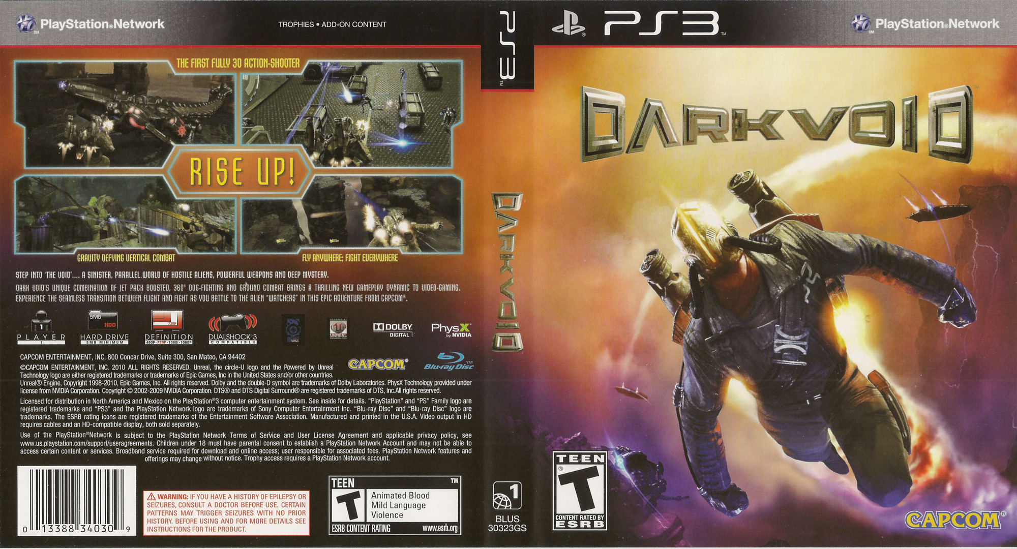 Dark Void PS3 coverfullHQ (BLUS30323)
