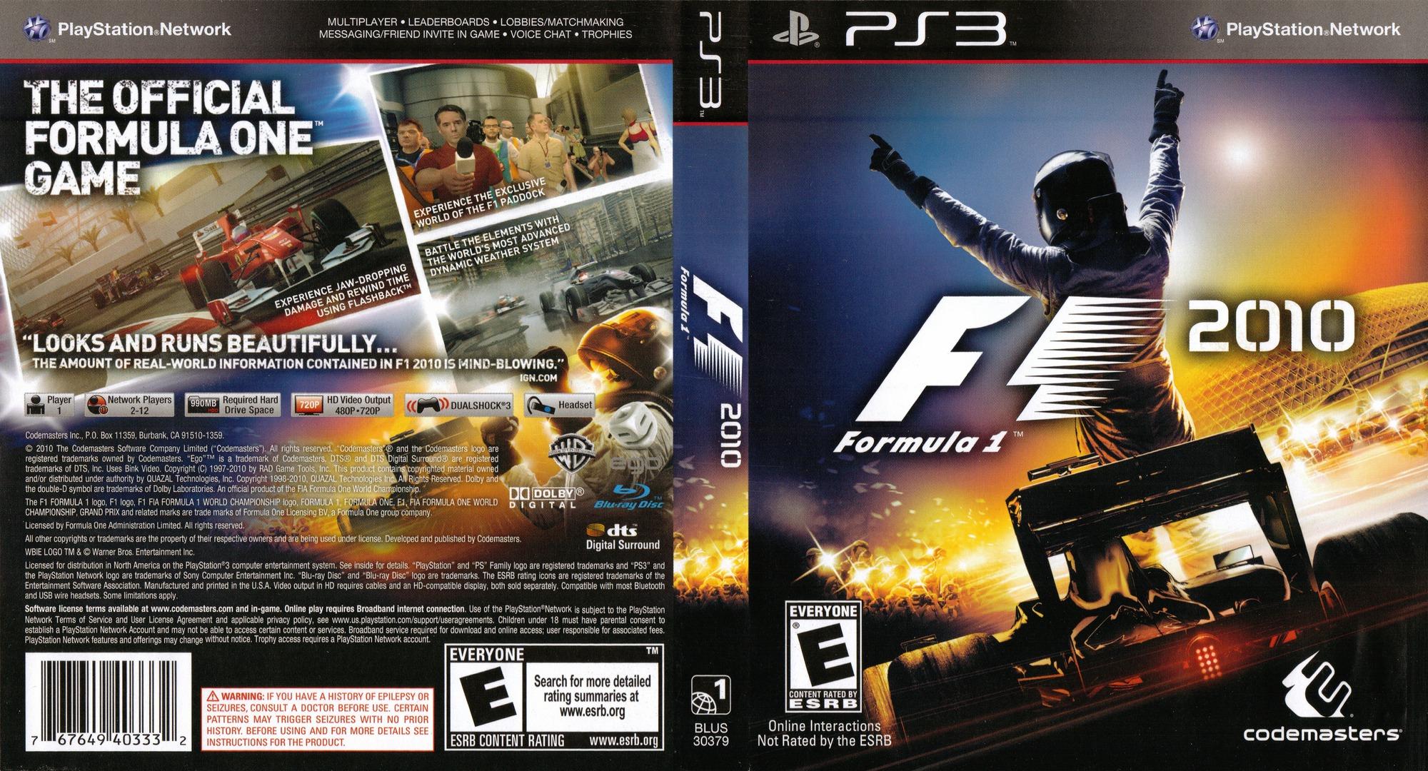 F1 2010 PS3 coverfullHQ (BLUS30379)