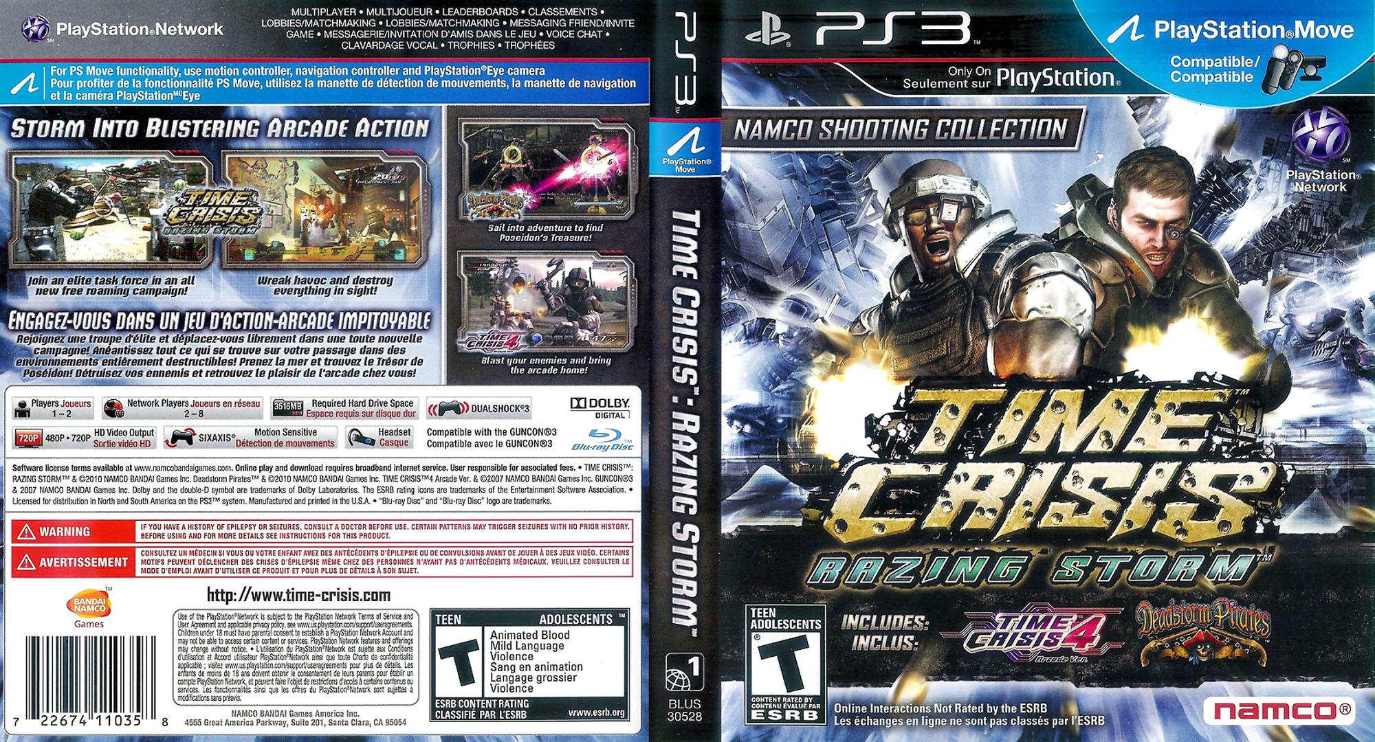Time Crisis: Razing Storm PS3 coverfullHQ (BLUS30528)