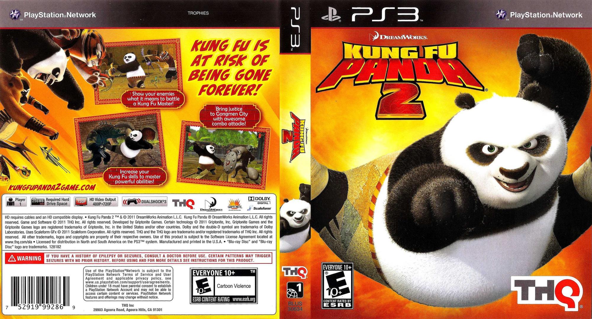 Kung Fu Panda 2 PS3 coverfullHQ (BLUS30634)