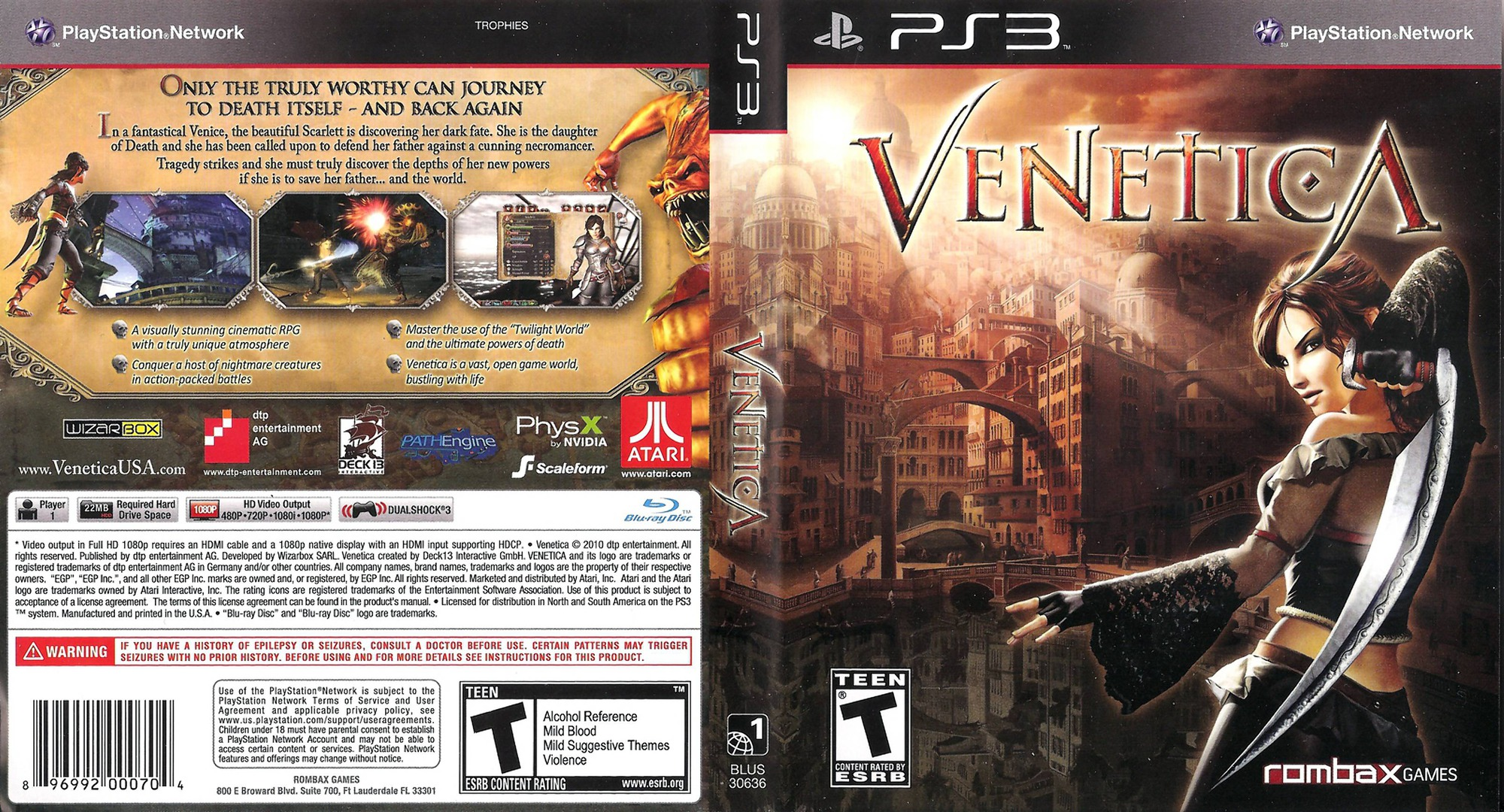 Venetica PS3 coverfullHQ (BLUS30636)