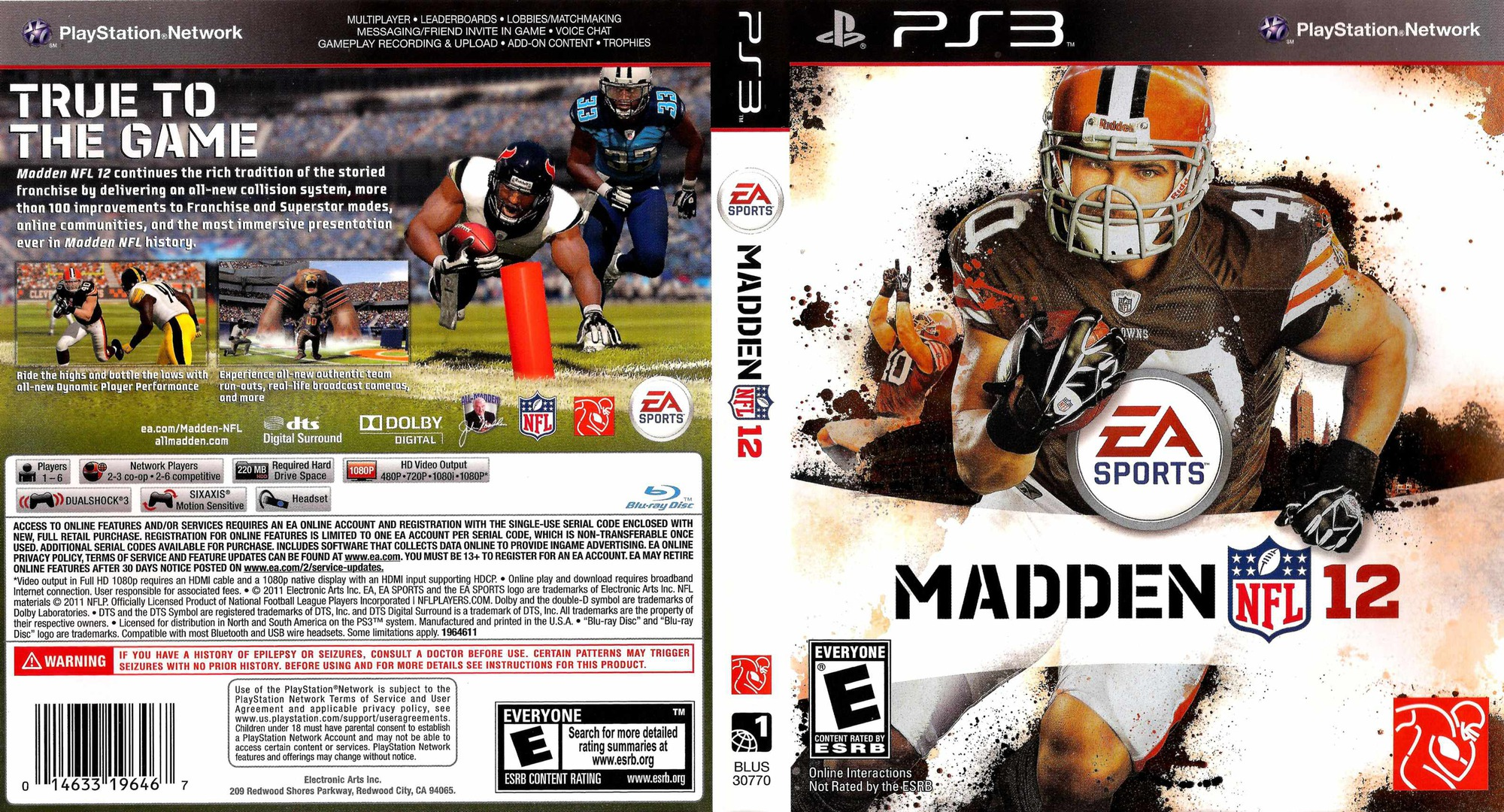 Madden NFL 12 PS3 coverfullHQ (BLUS30770)