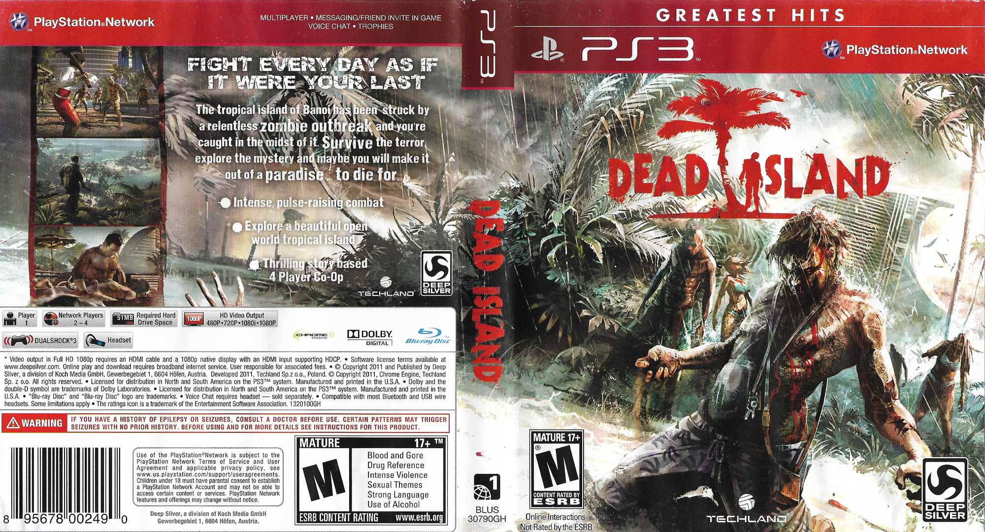 Dead Island PS3 coverfullHQ (BLUS30790)
