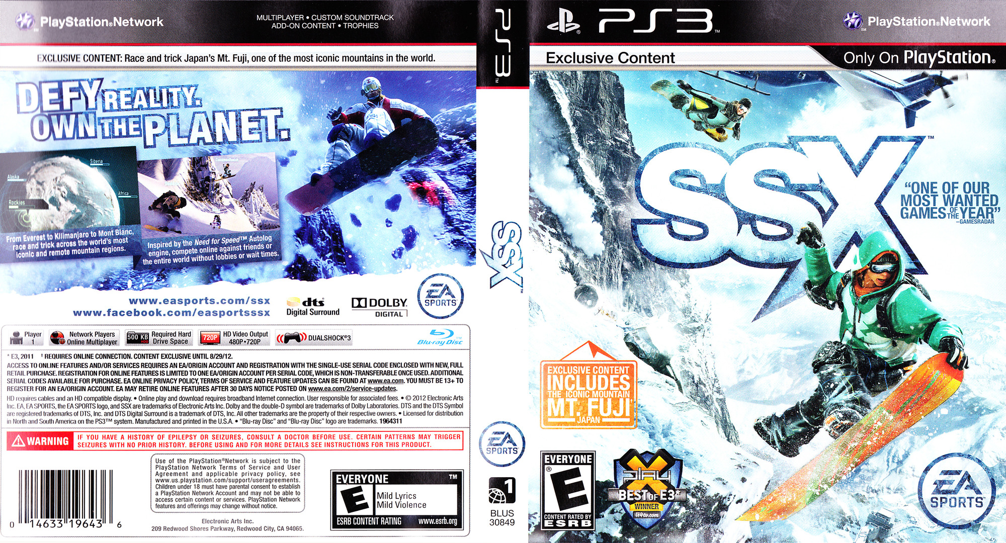 SSX PS3 coverfullHQ (BLUS30849)
