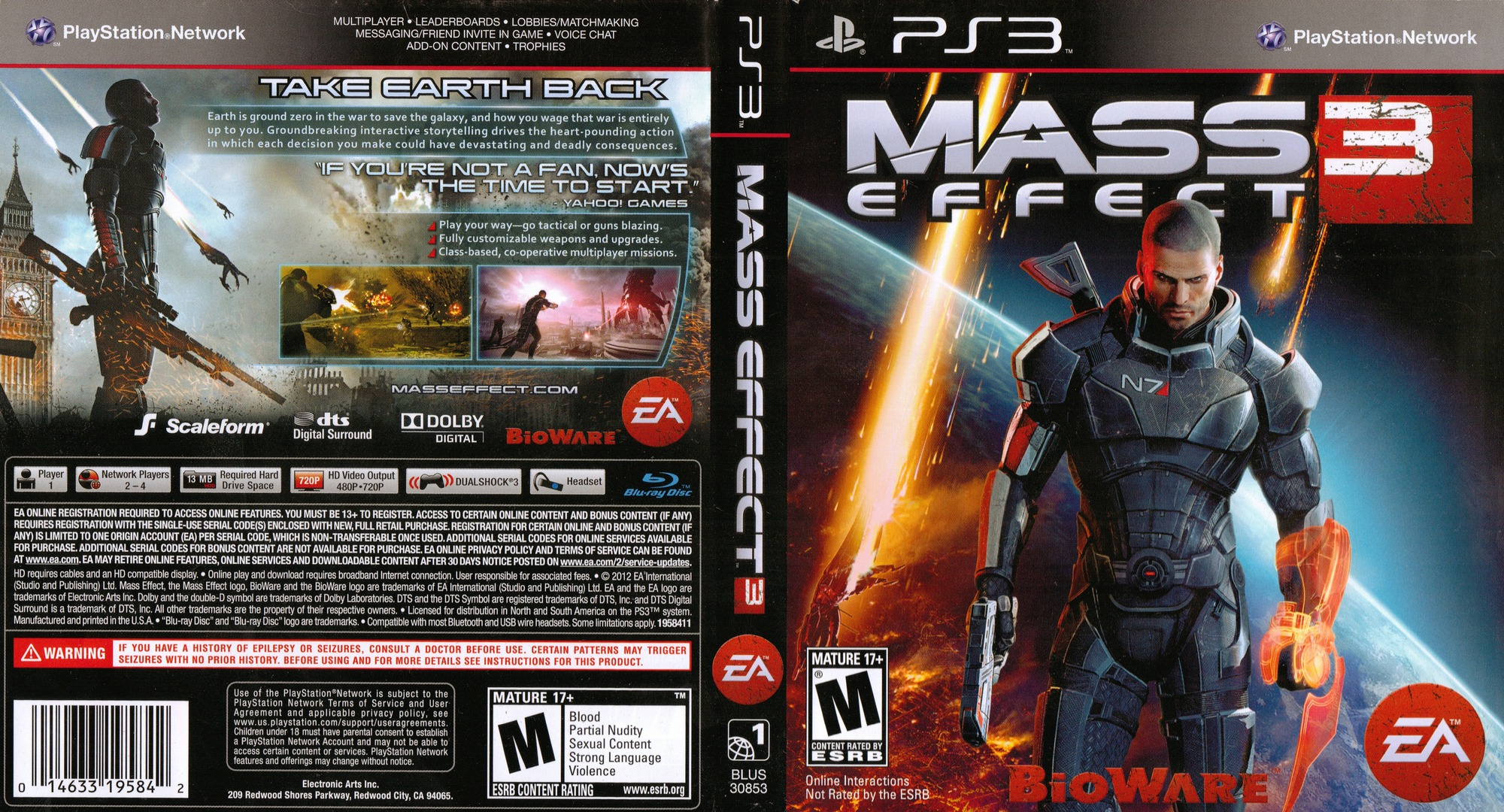 Mass Effect 3 PS3 coverfullHQ (BLUS30853)