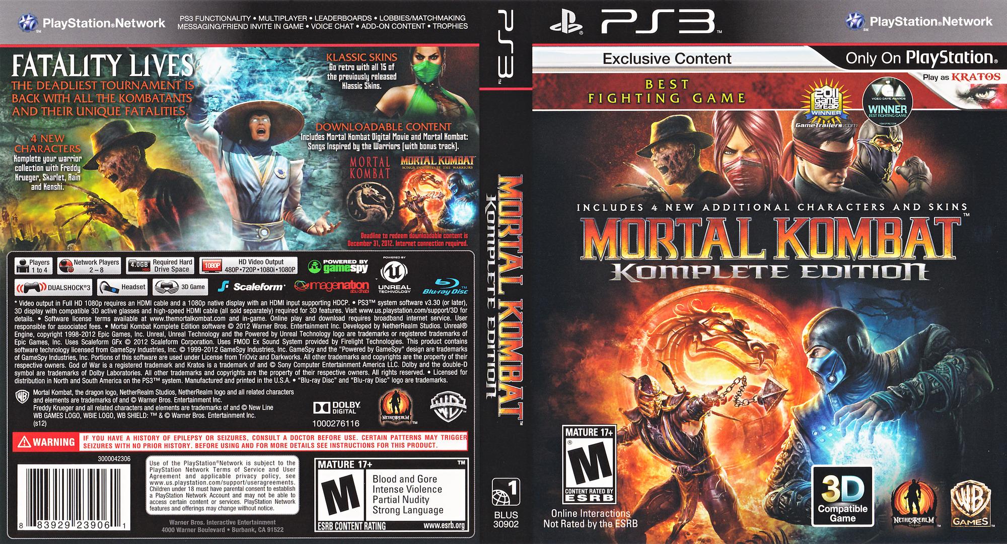 Mortal kombat komplete edition nudity xxx tube