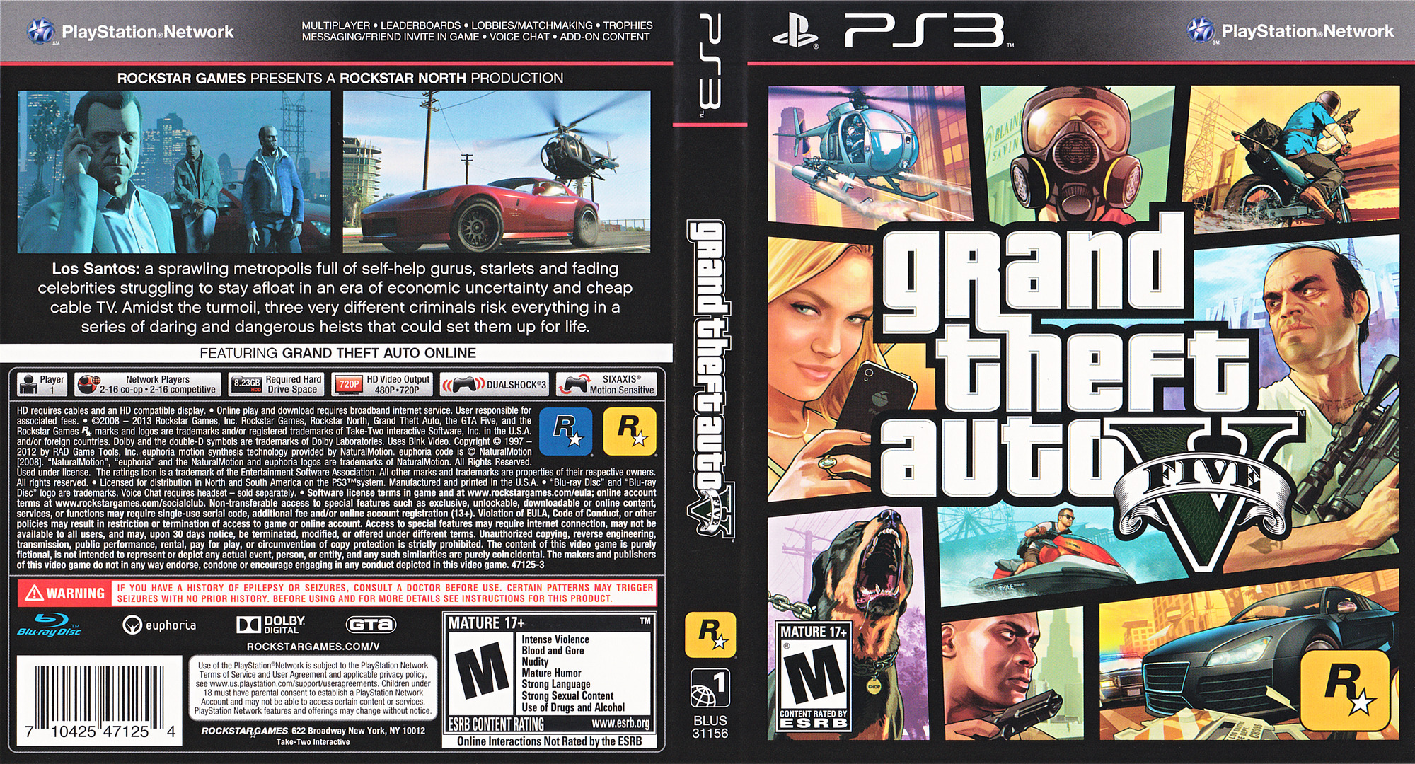 BLUS31156 - Grand Theft Auto V