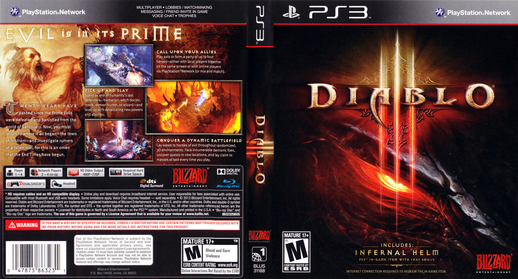 Diablo III PS3 coverfullHQ (BLUS31188)