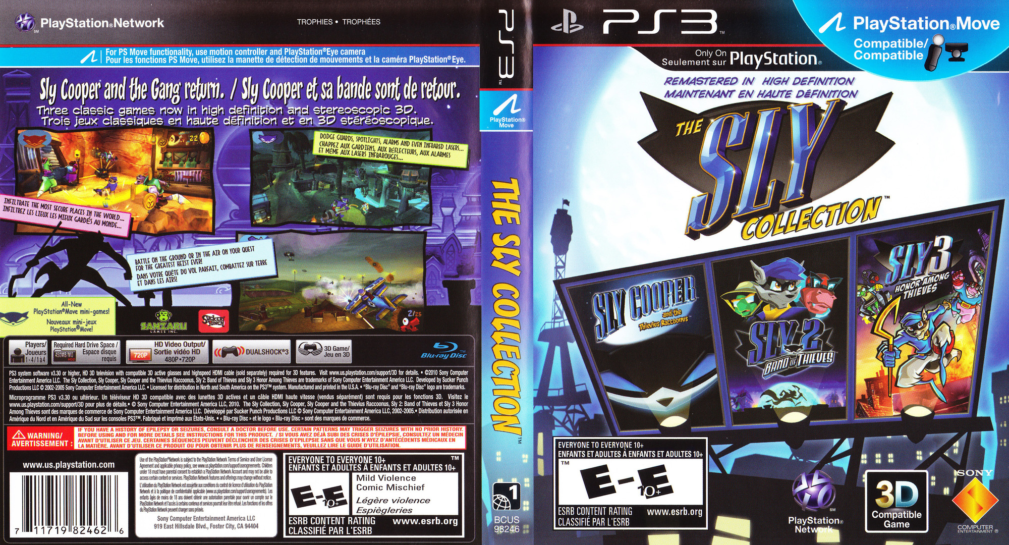The Sly Collection PS3 coverfullHQ2 (BCUS98246)