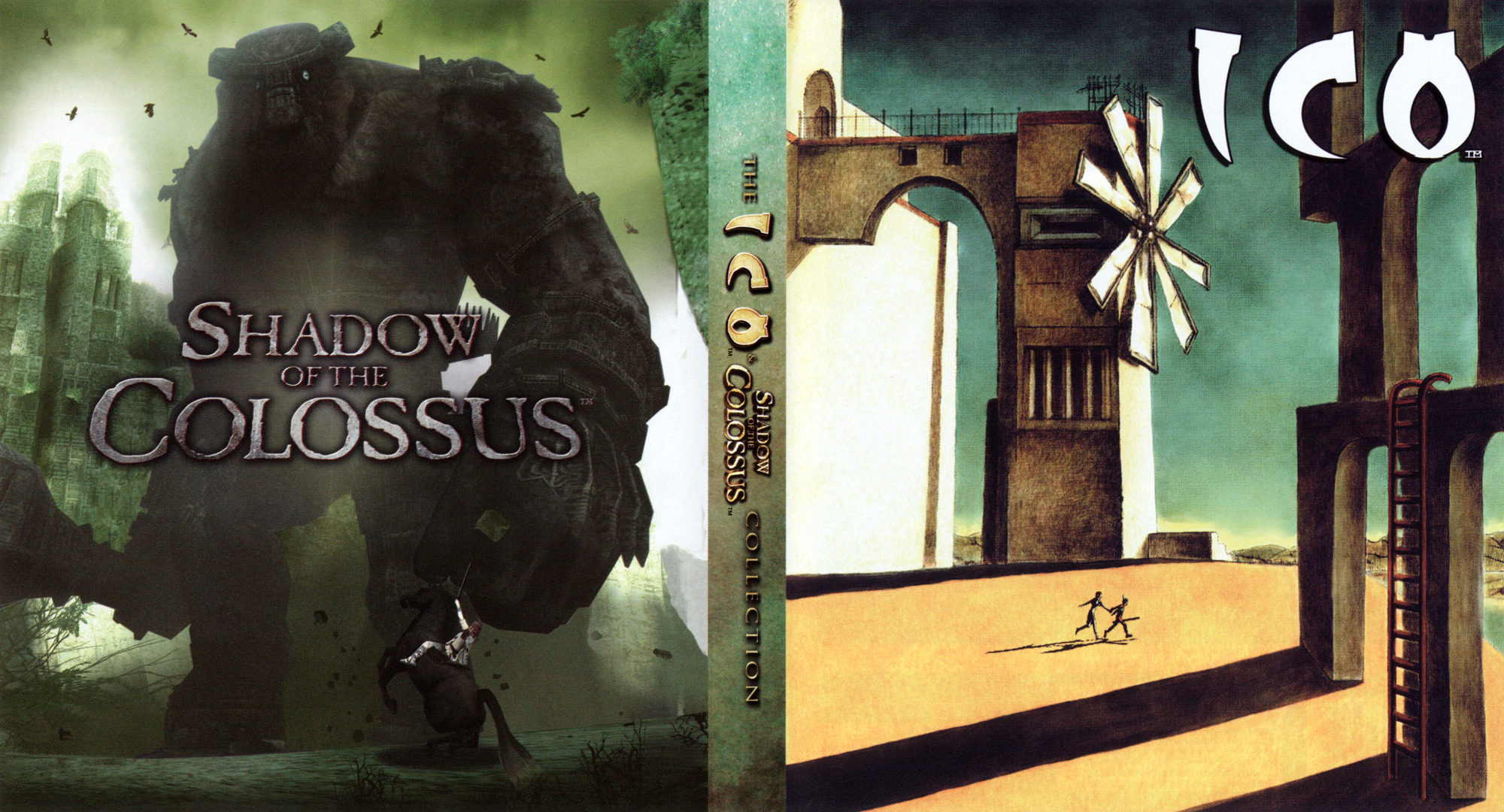 The ICO & Shadow of the Colossus Collection PS3 coverfullHQ2 (BCUS98259)