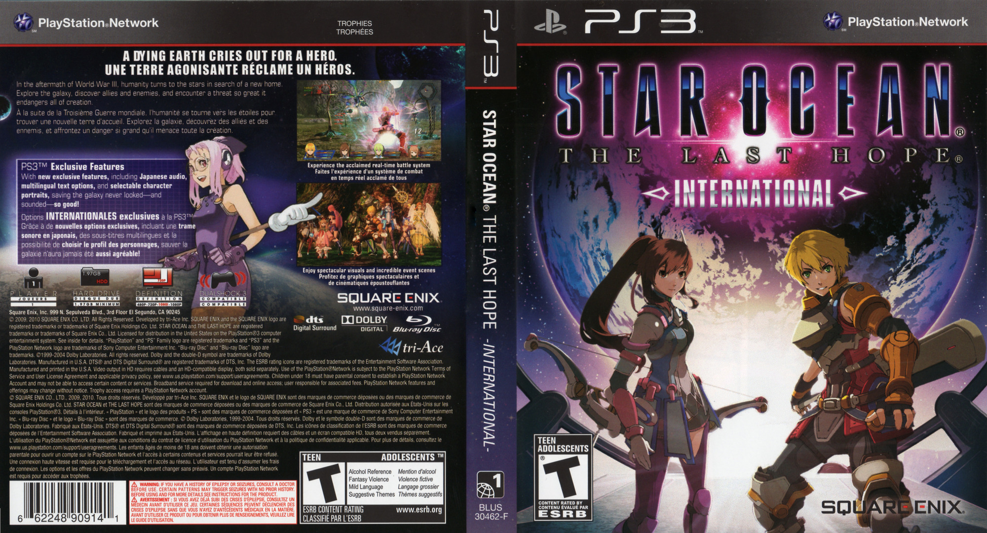Star Ocean: The Last Hope - International PS3 coverfullHQ2 (BLUS30462)