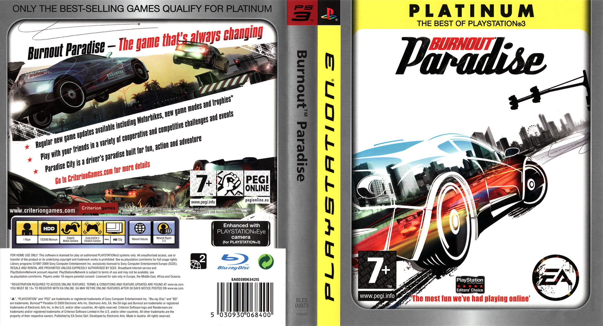 Burnout Paradise PS3 coverfullHQB (BLES00073)